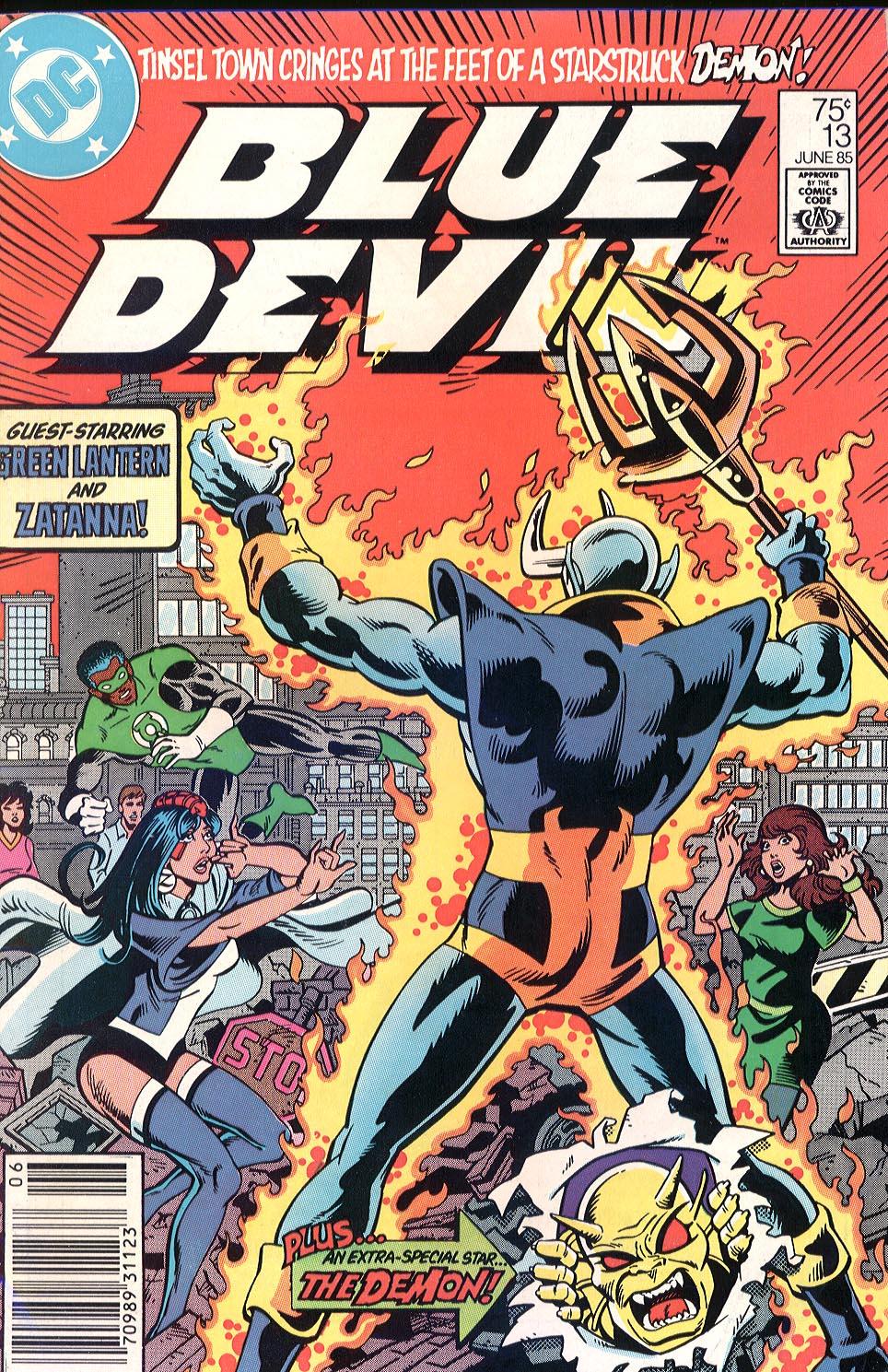 Blue Devil 13 Page 1