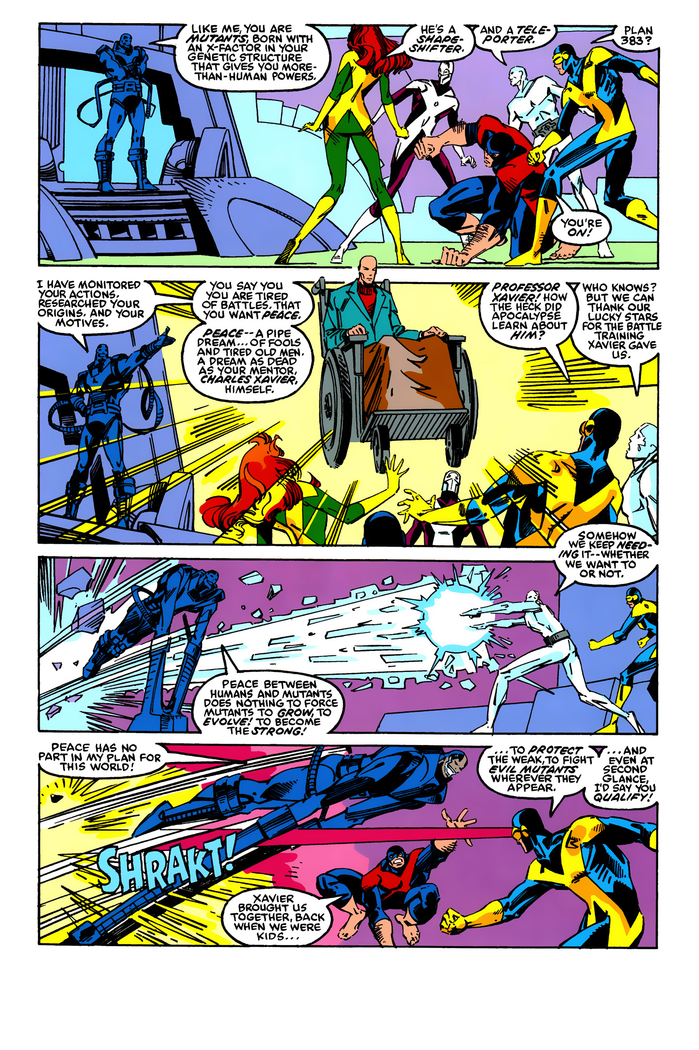 Read online X-Factor (1986) comic -  Issue #24 - 5