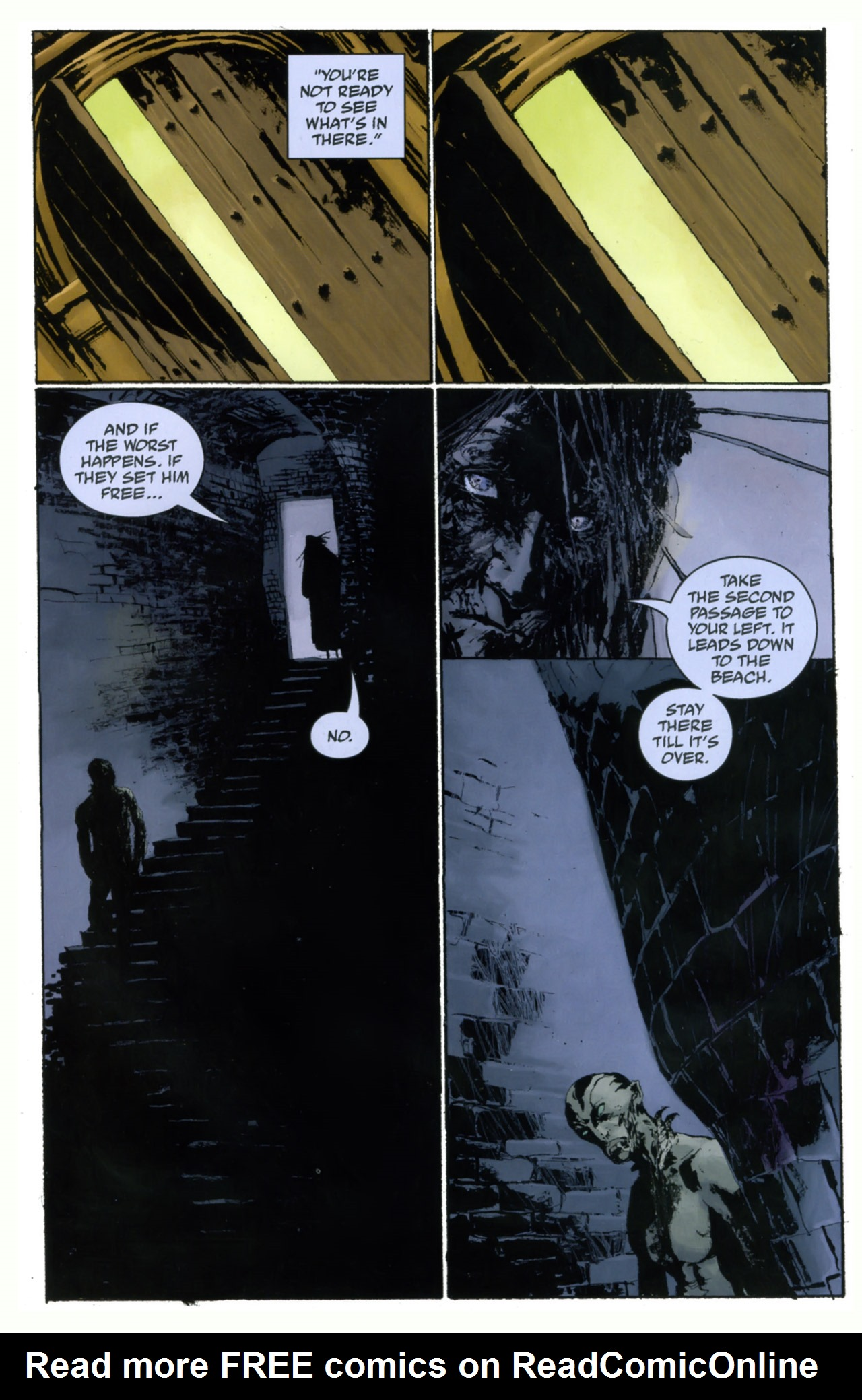 Read online Abe Sapien: The Drowning comic -  Issue #4 - 24