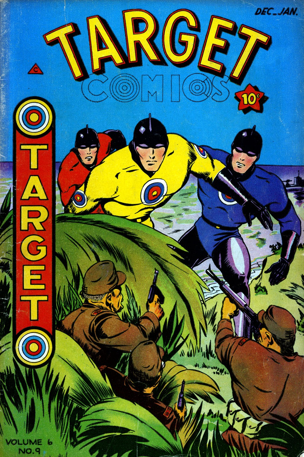 Target Comics 65 Page 1