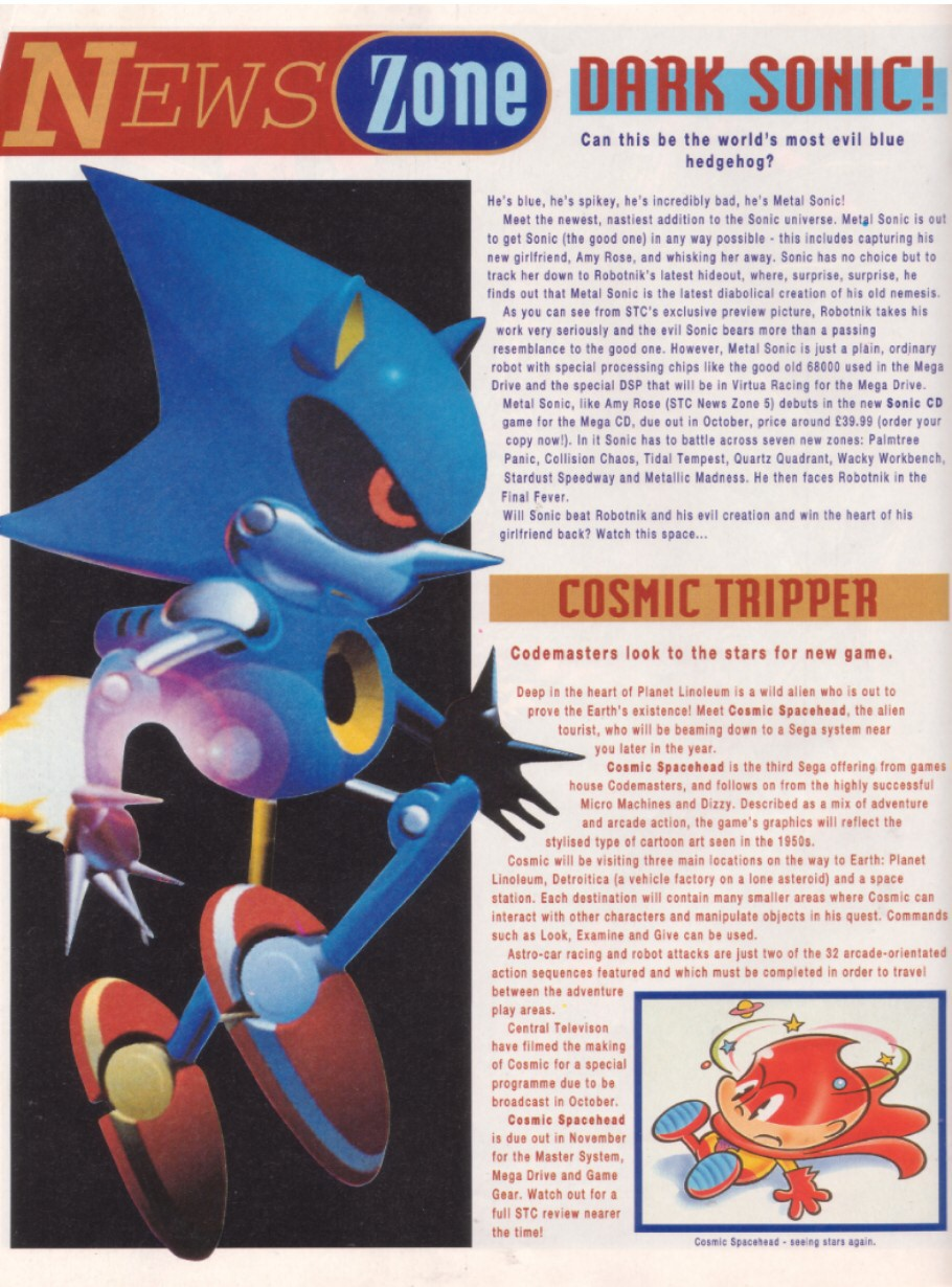Read online Sonic the Comic comic -  Issue #8 - 18