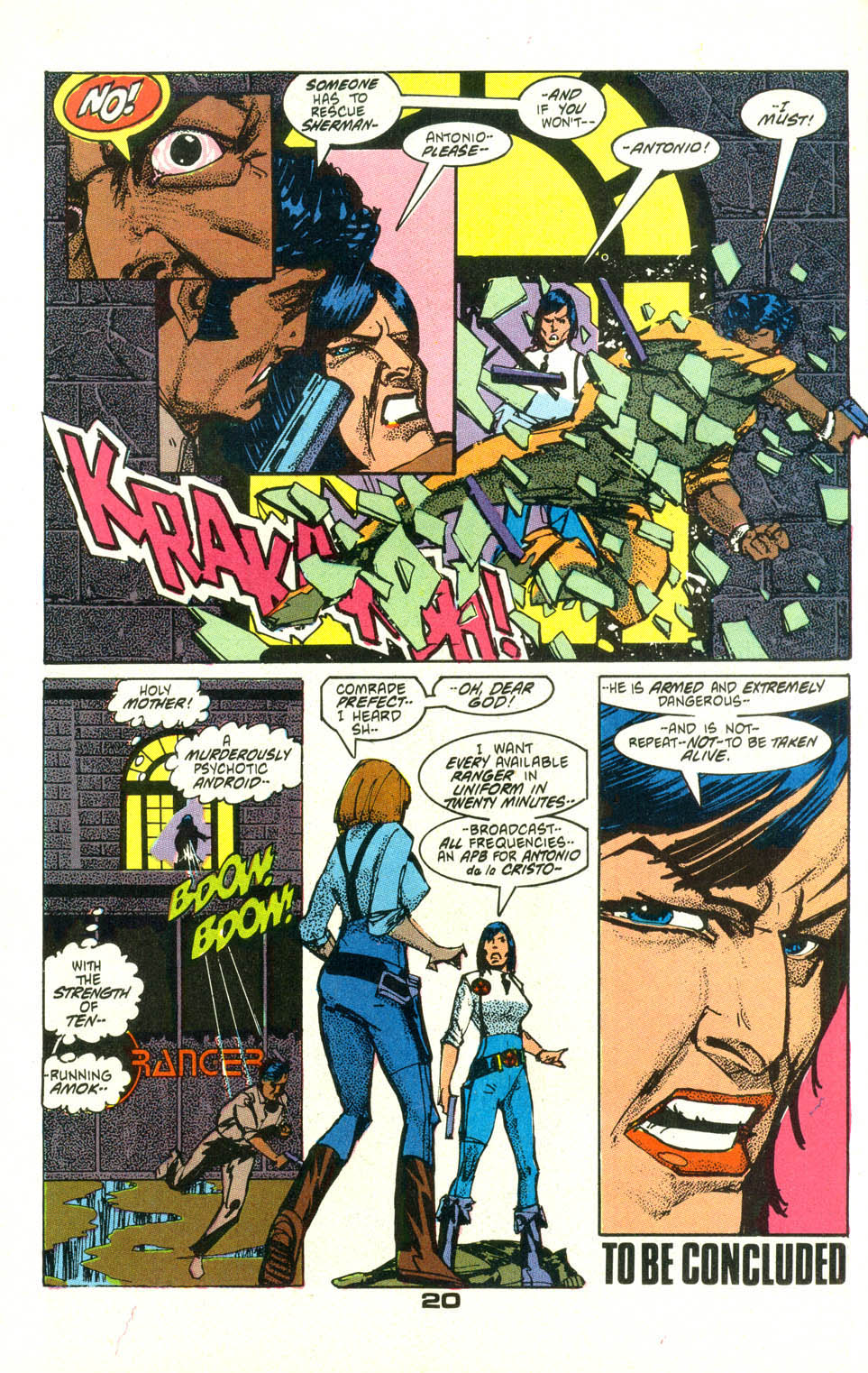 Read online American Flagg! comic -  Issue #25 - 22