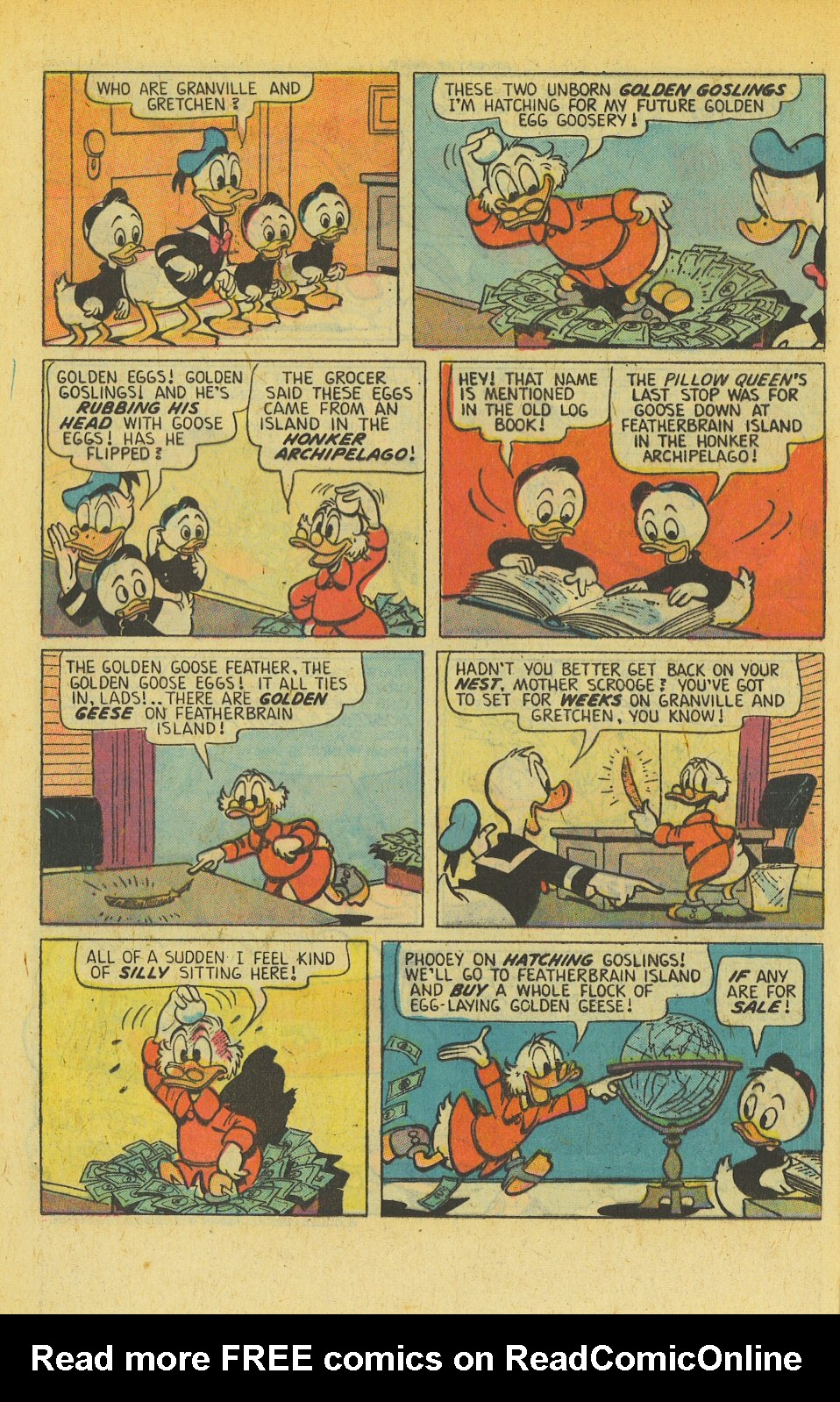 Read online Uncle Scrooge (1953) comic -  Issue #139 - 8