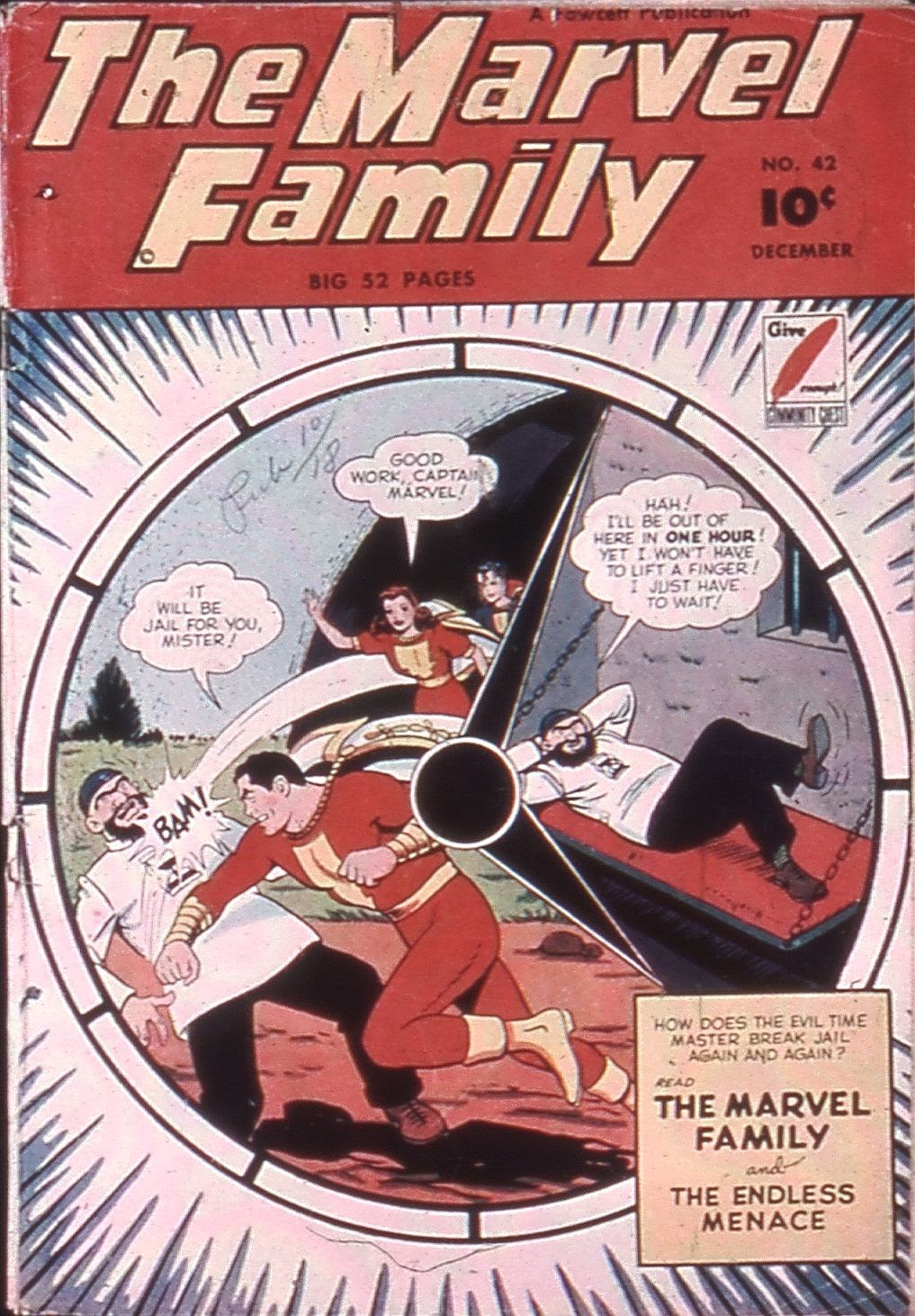 The Marvel Family issue 42 - Page 1