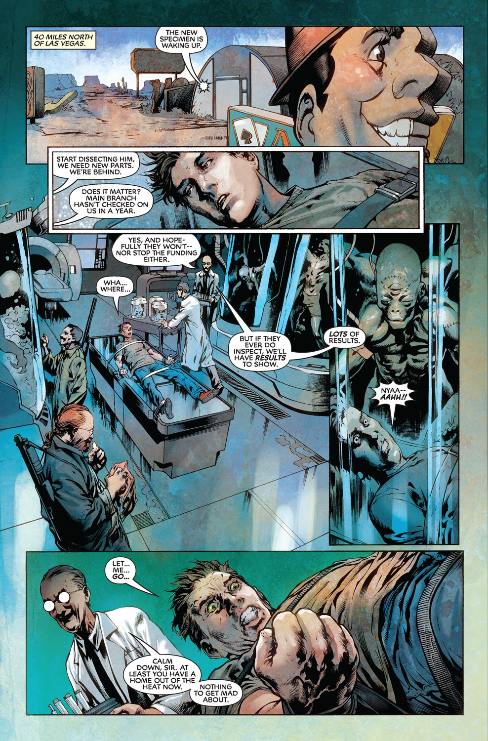 Read online Agents Of Atlas (2009) comic -  Issue #8 - 6