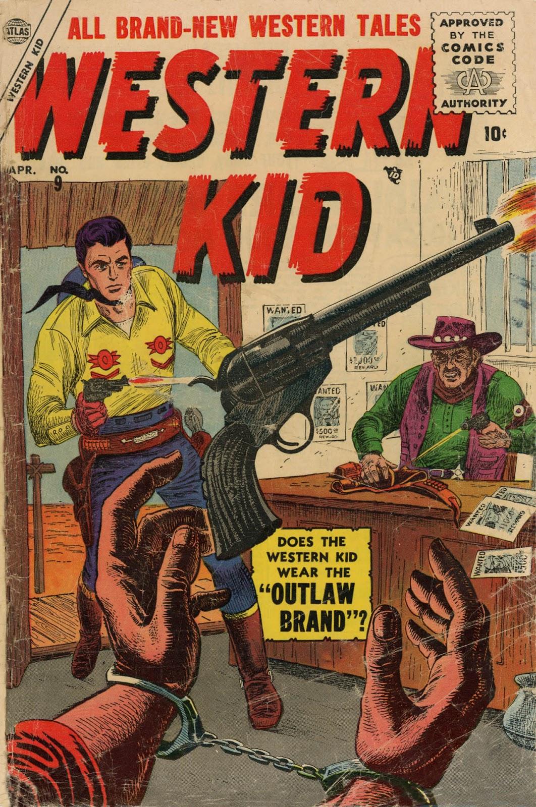 Western Kid 9 Page 1