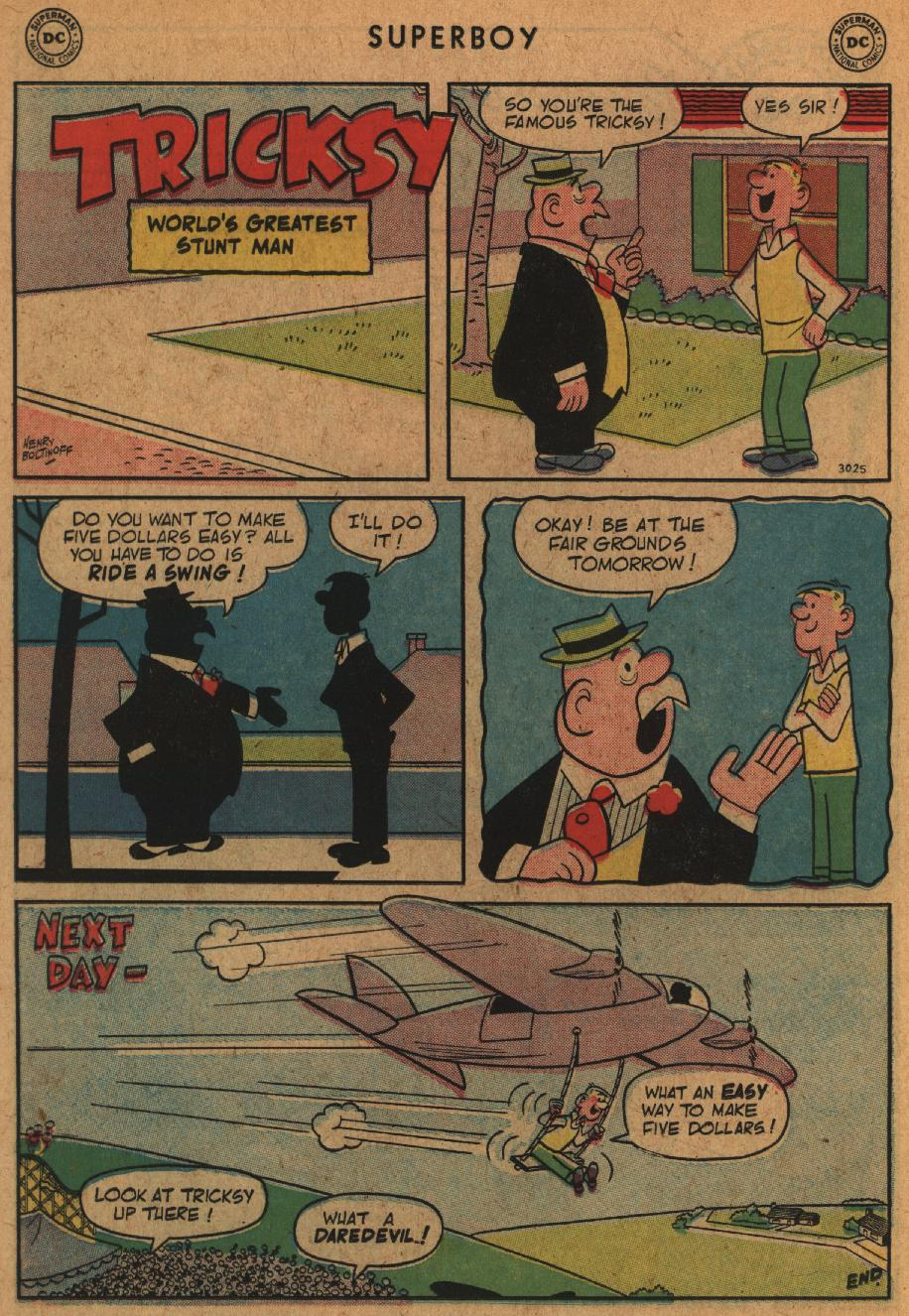Superboy (1949) issue 63 - Page 10