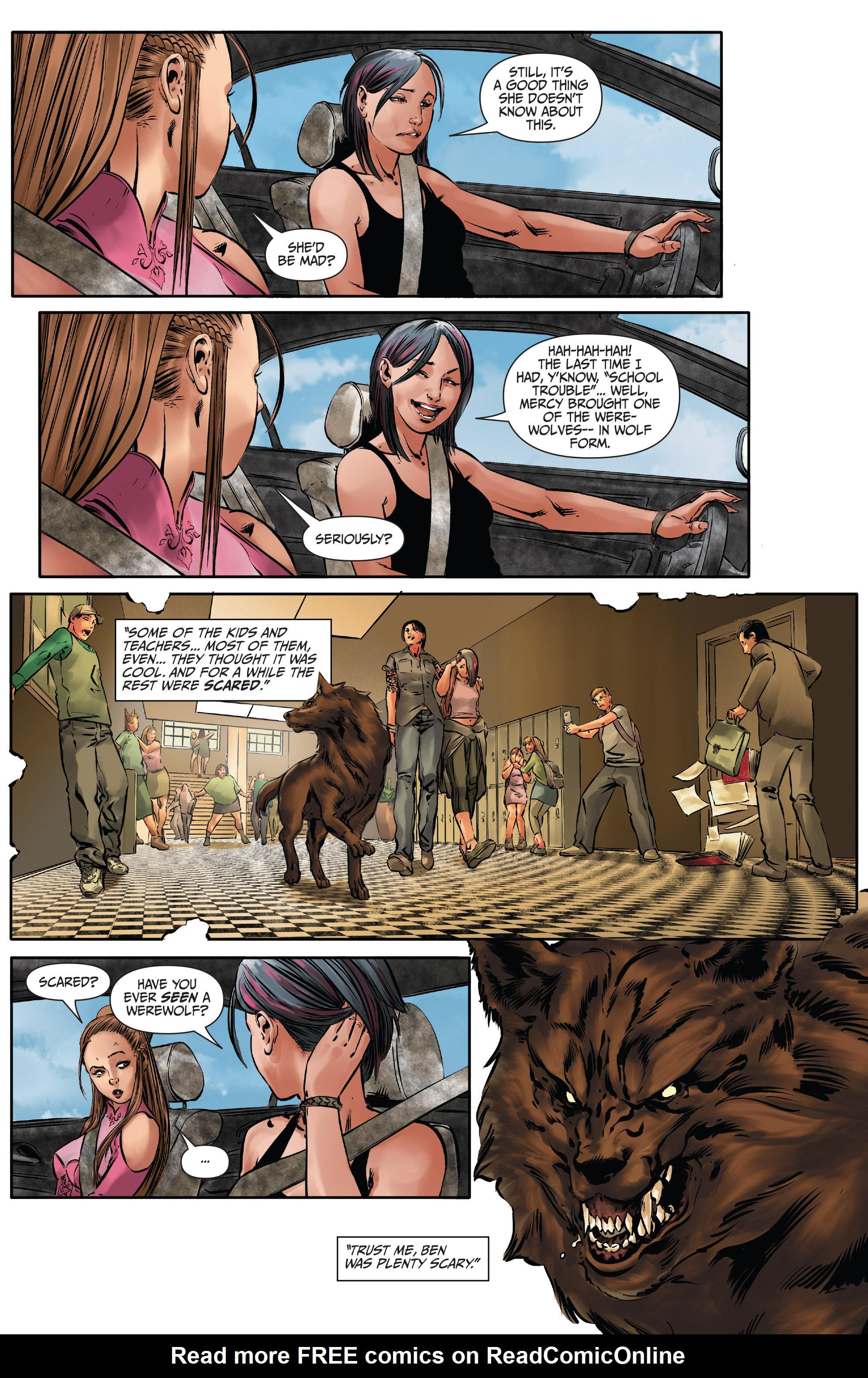 Read online Mercy Thompson comic -  Issue #2 - 16