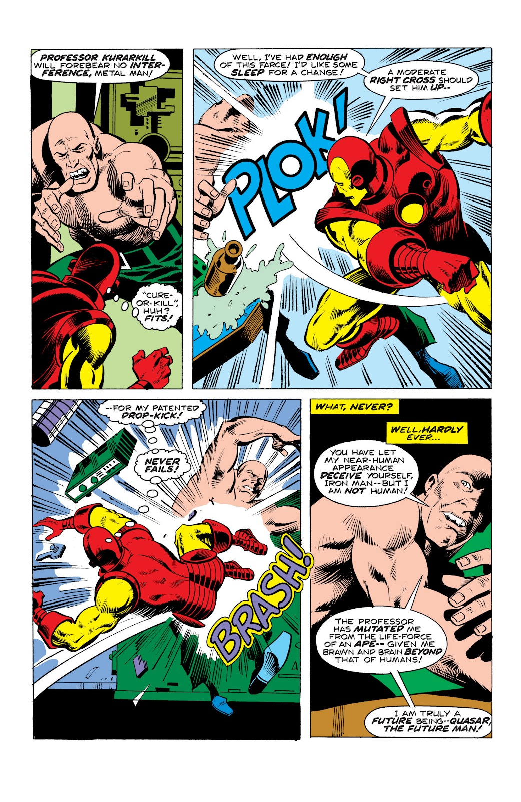 Read online Marvel Masterworks: The Invincible Iron Man comic -  Issue # TPB 10 (Part 3) - 4