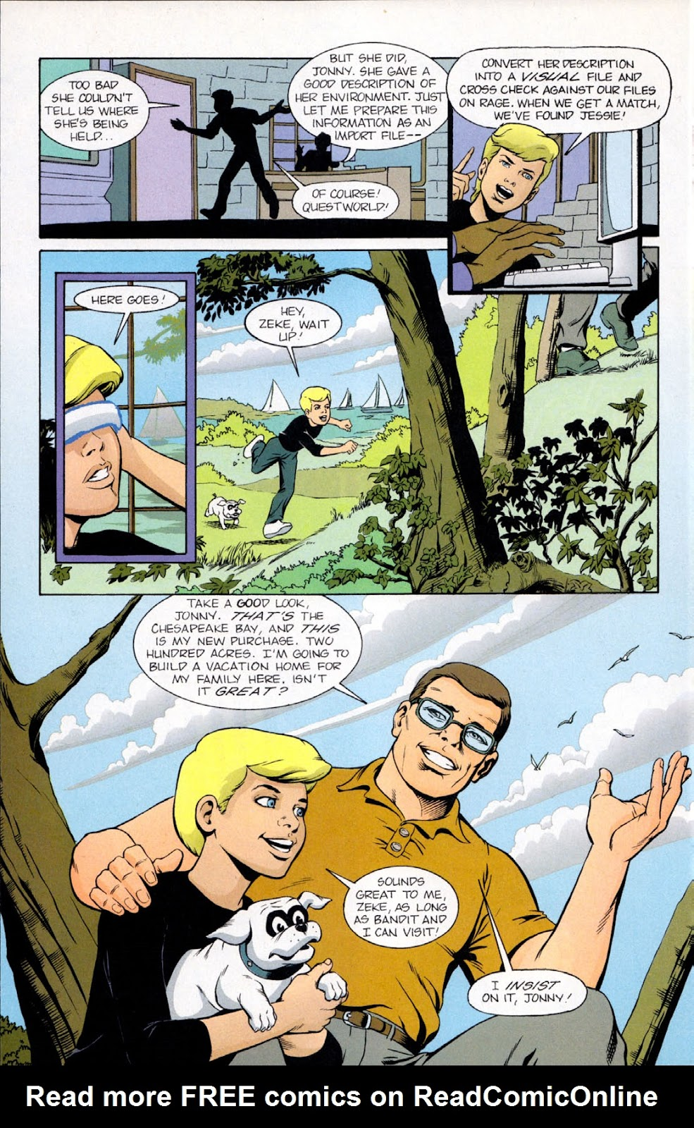Read online The Real Adventures of Jonny Quest comic -  Issue #9 - 22
