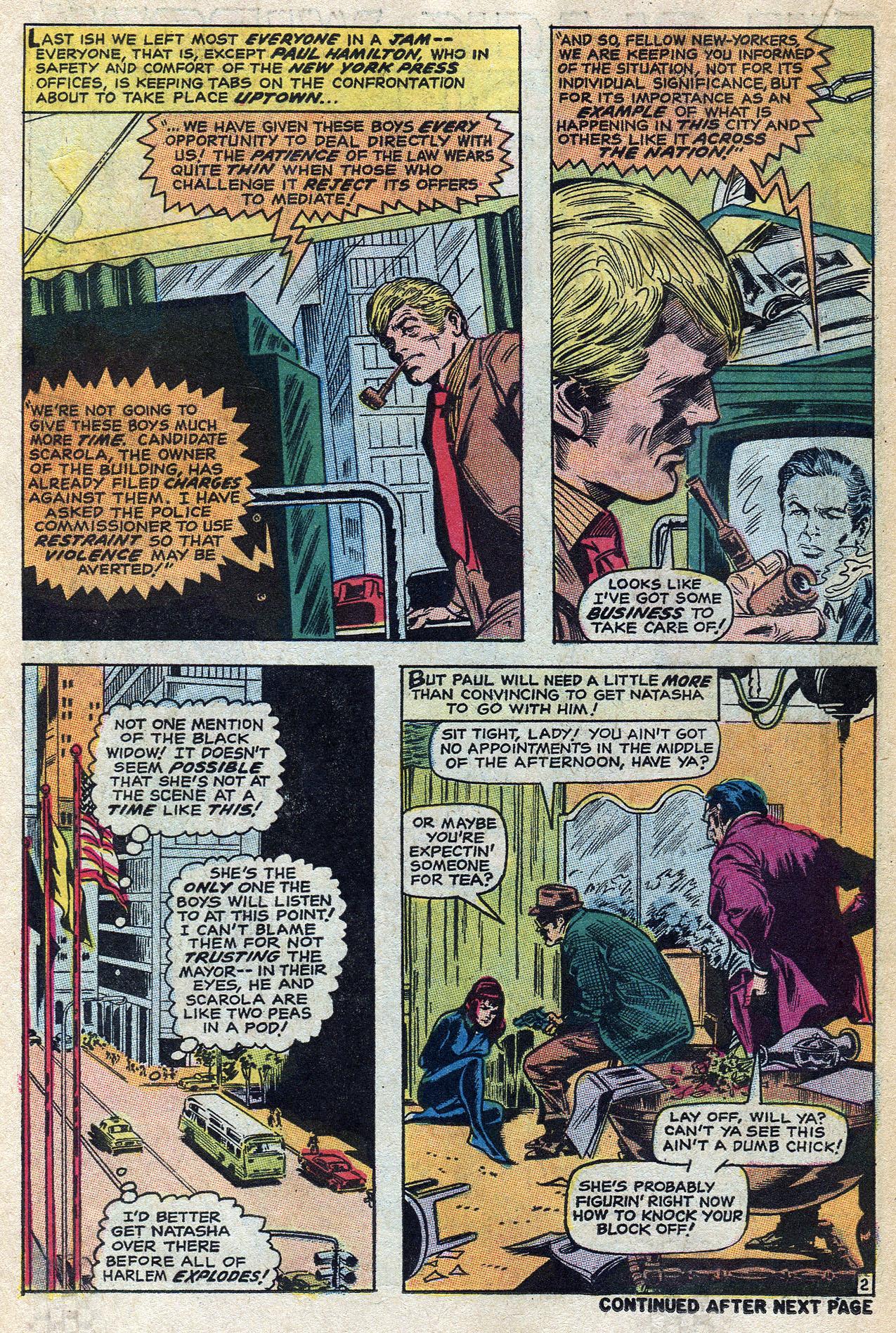 Read online Amazing Adventures (1970) comic -  Issue #4 - 18