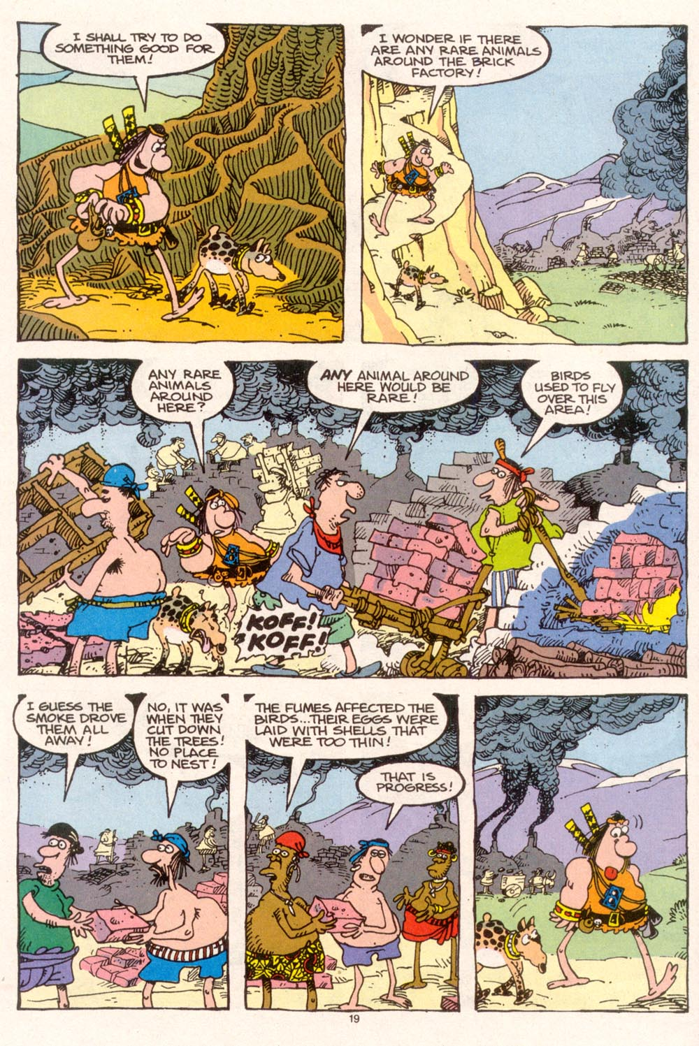 Read online Sergio Aragonés Groo the Wanderer comic -  Issue #95 - 20