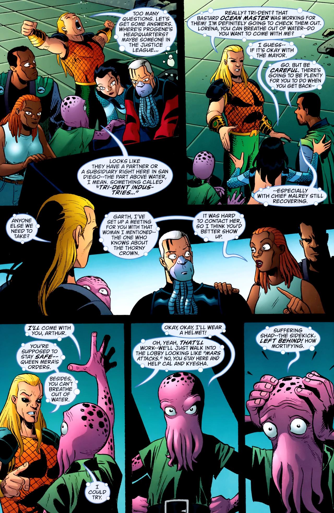 Read online Aquaman: Sword of Atlantis comic -  Issue #54 - 7