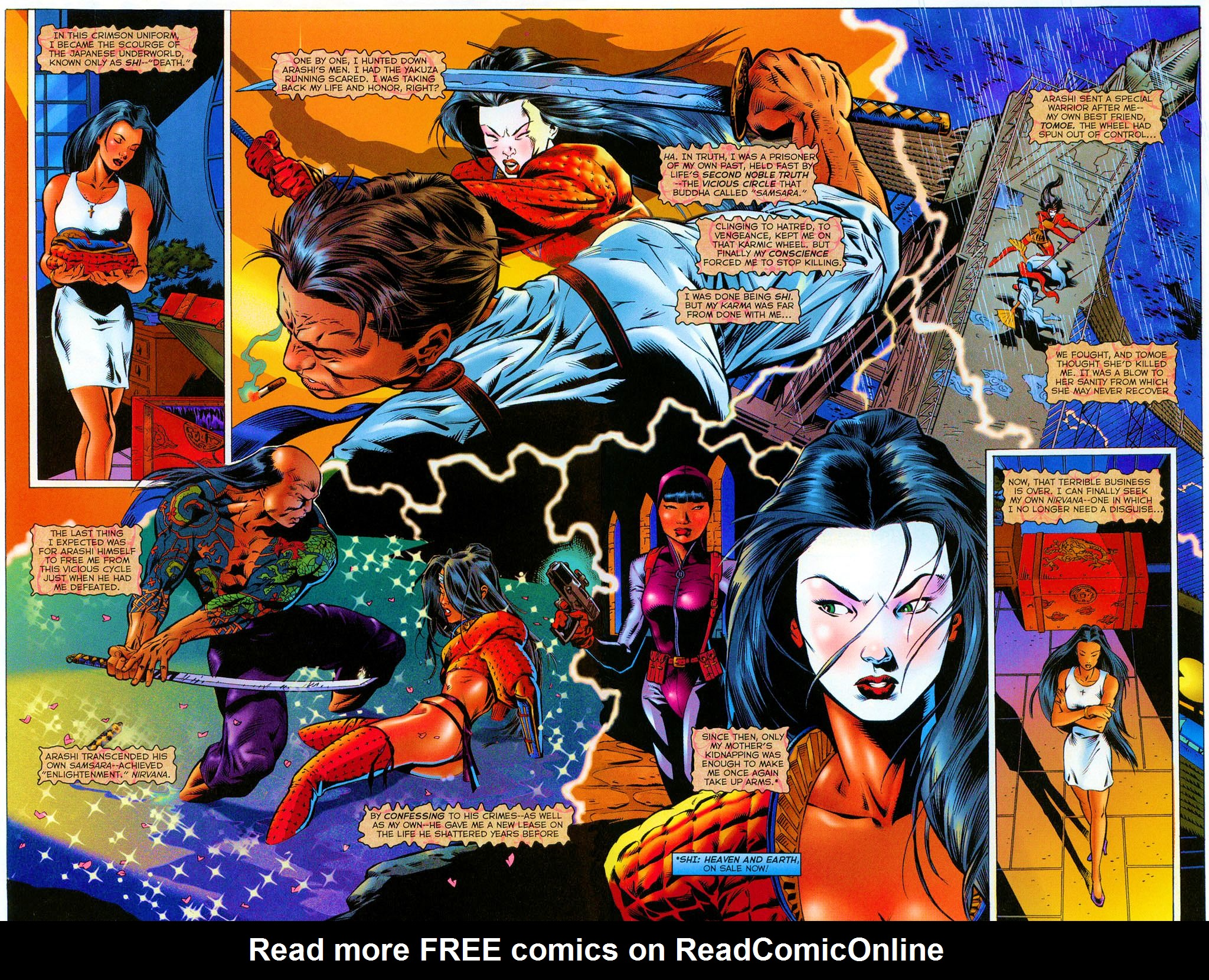 Read online Shi: The Series comic -  Issue #1 - 4