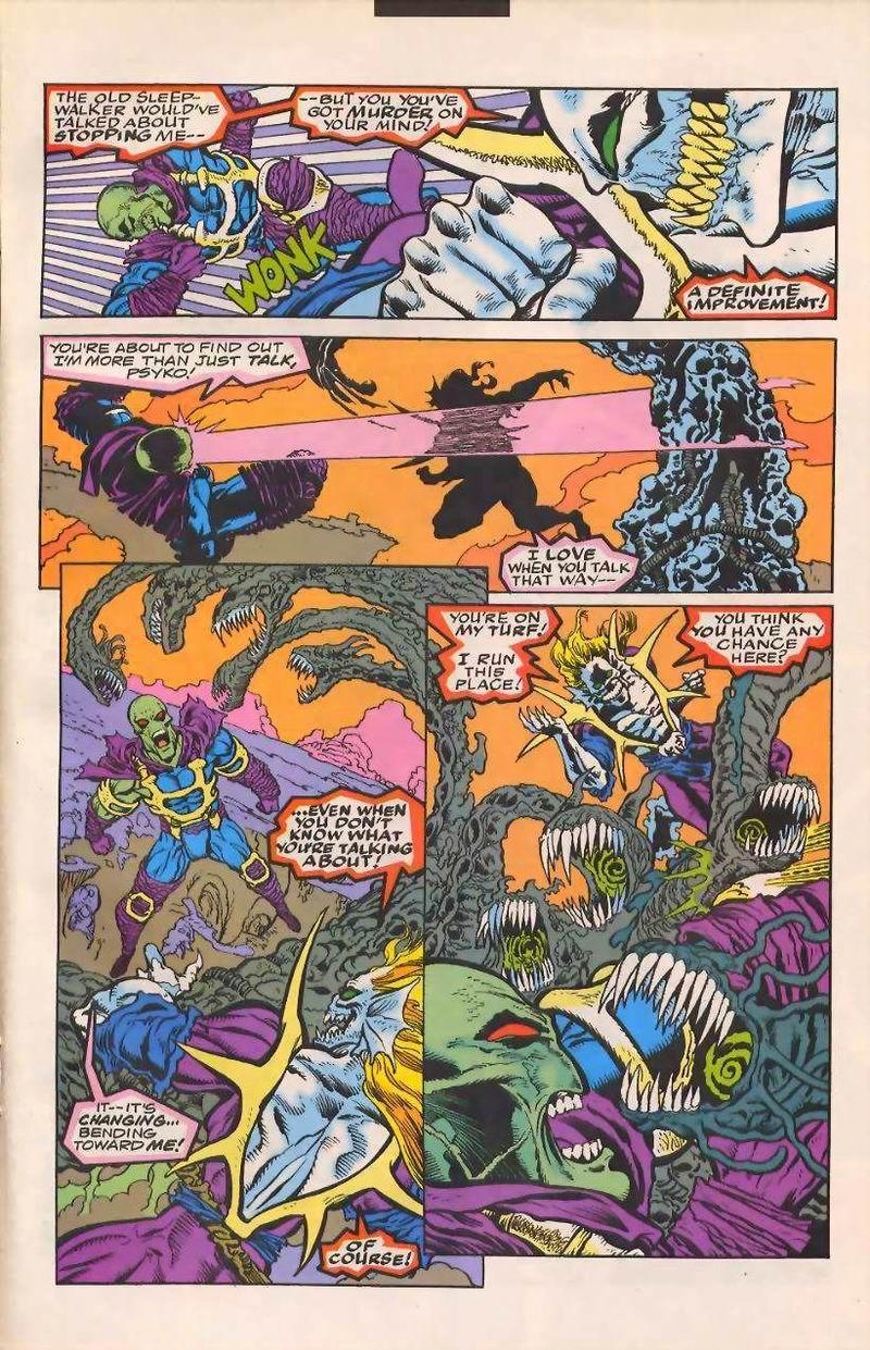 Read online Sleepwalker comic -  Issue #32 - 16