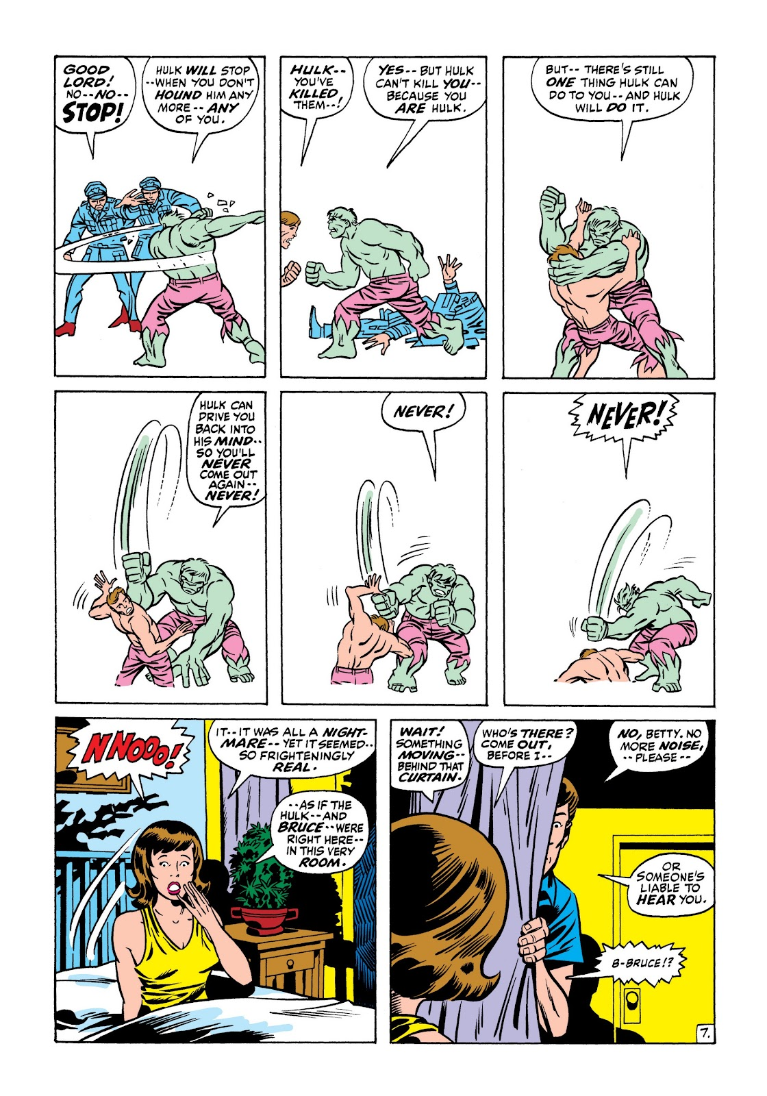 Read online Marvel Masterworks: The Incredible Hulk comic -  Issue # TPB 7 (Part 1) - 74