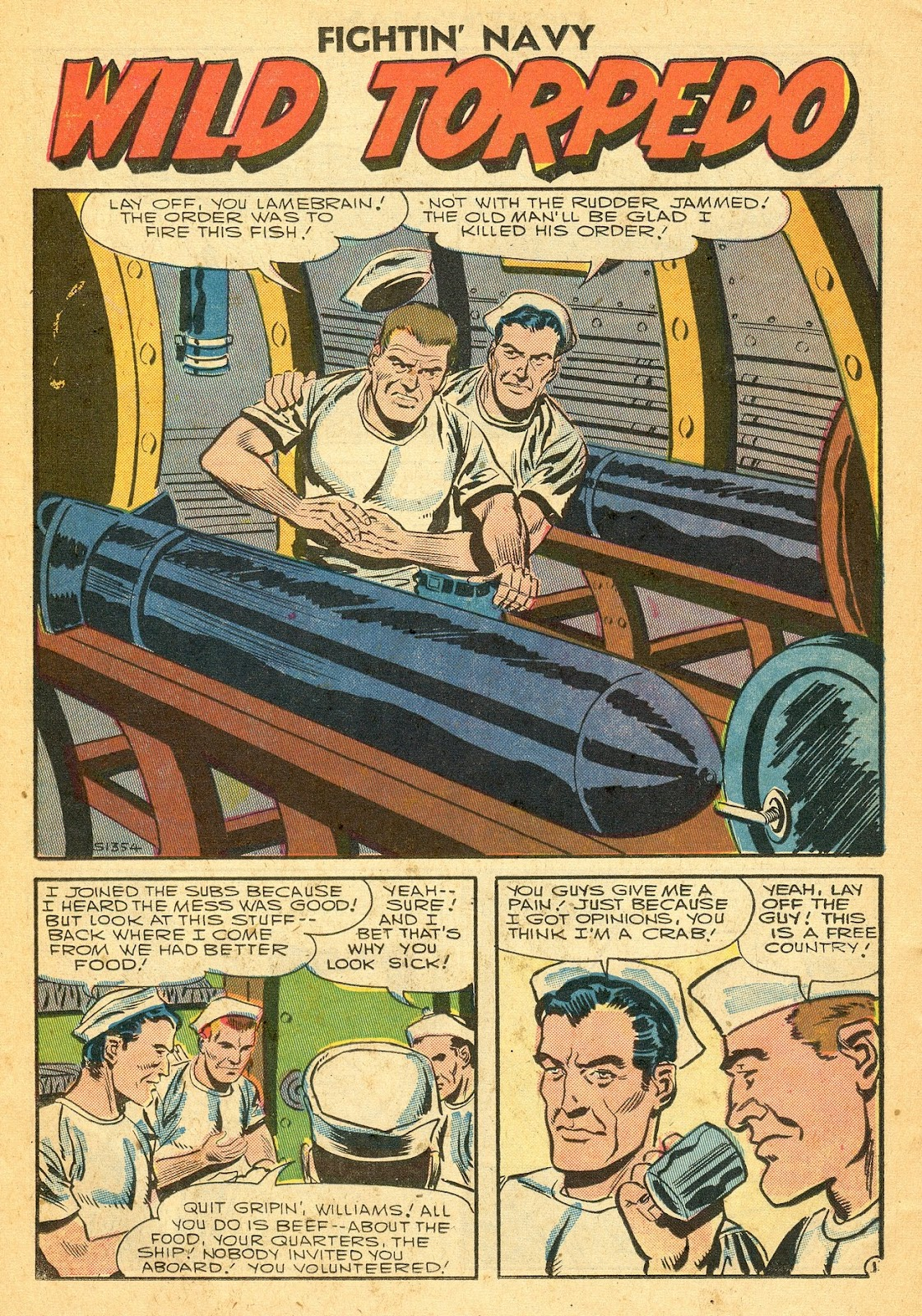 Read online Fightin' Navy comic -  Issue #77 - 26