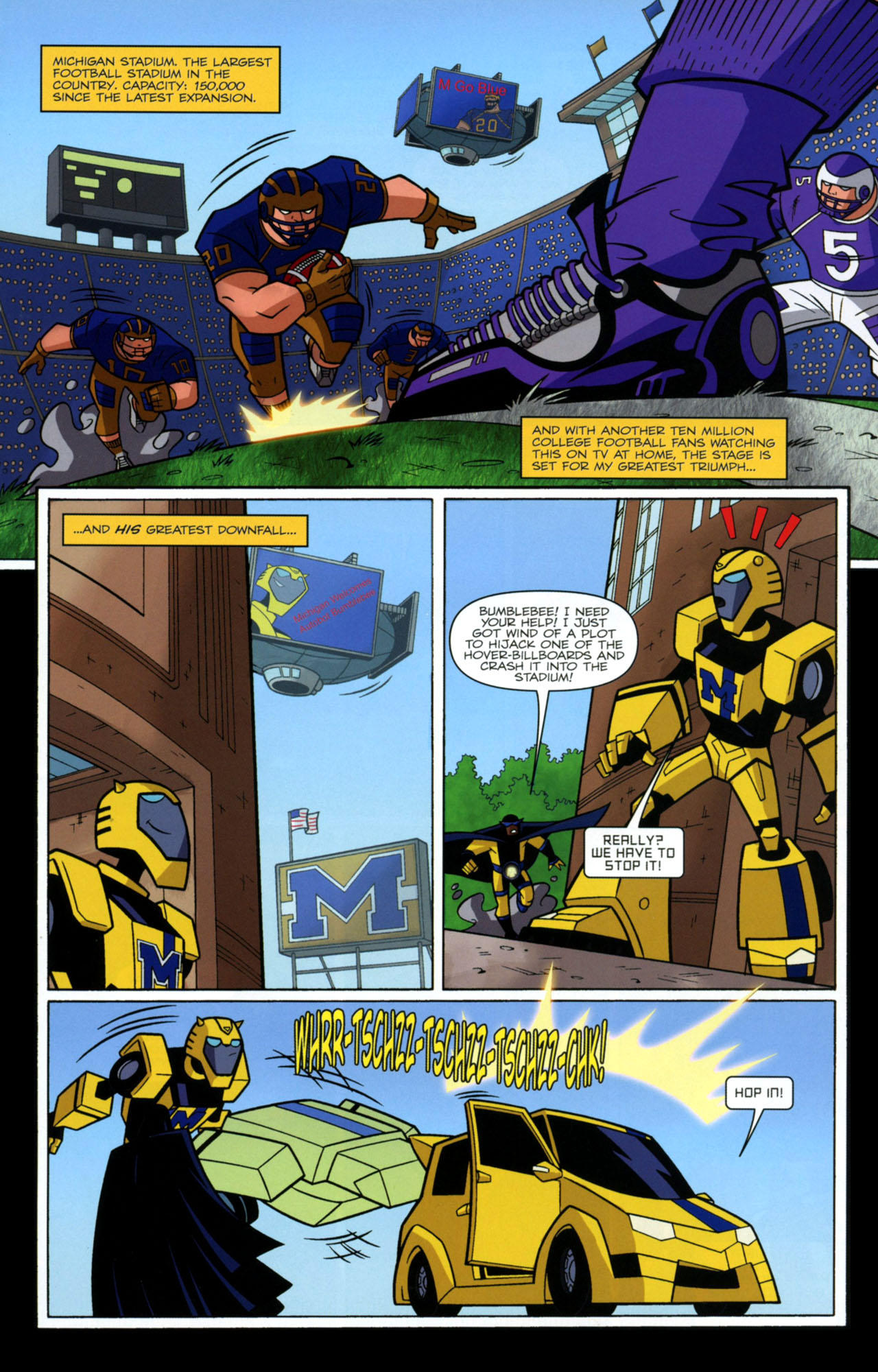 Read online Transformers Animated: The Arrival comic -  Issue #2 - 14