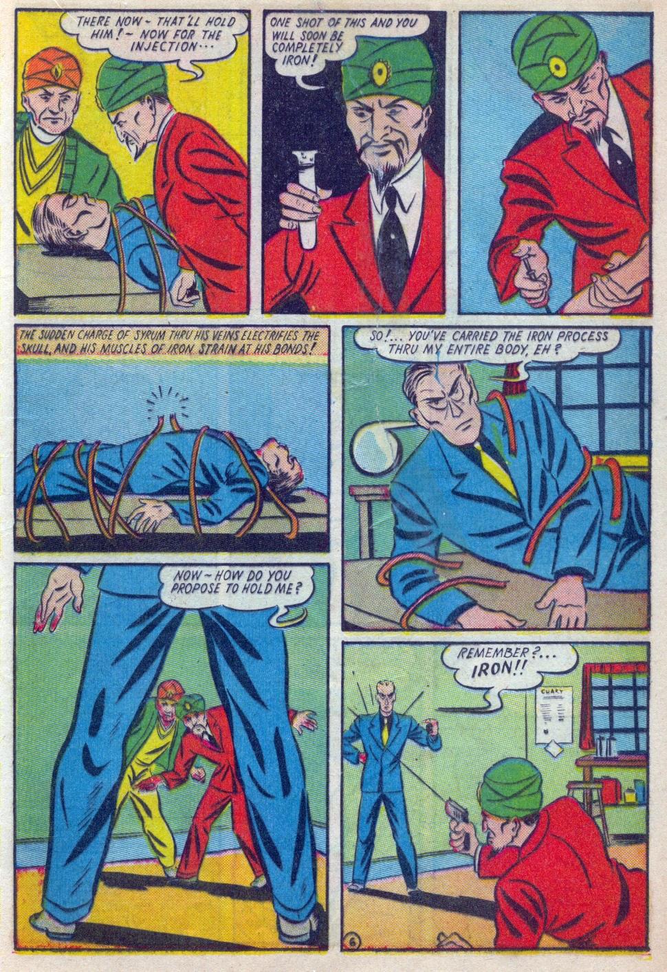 Read online Amazing Man Comics comic -  Issue #15 - 24