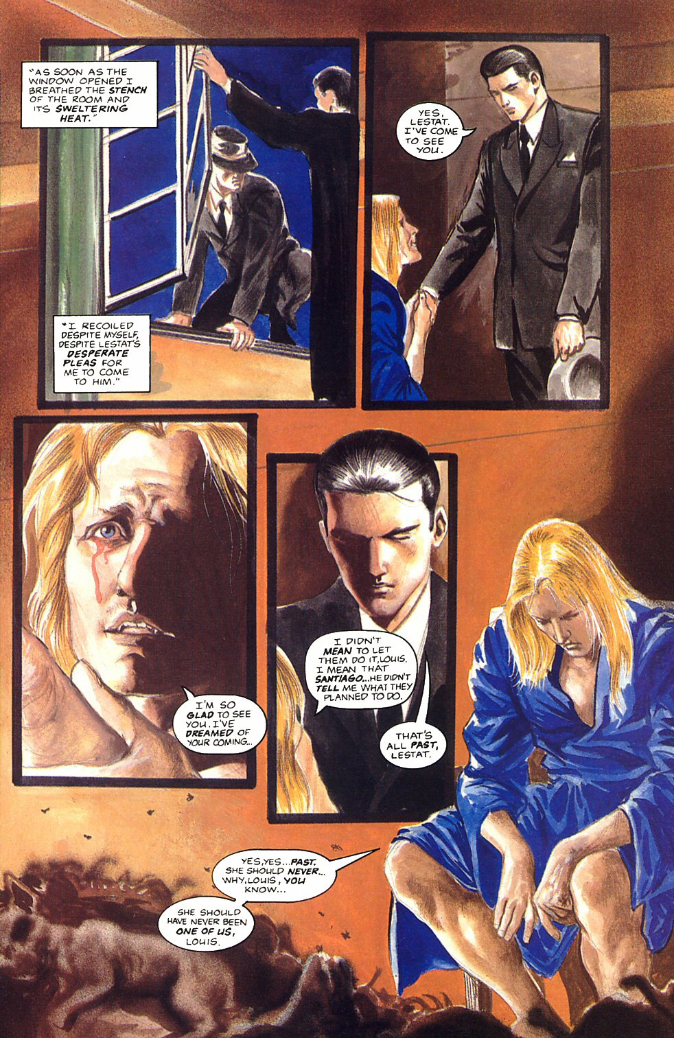 Read online Anne Rice's Interview with the Vampire comic -  Issue #12 - 15