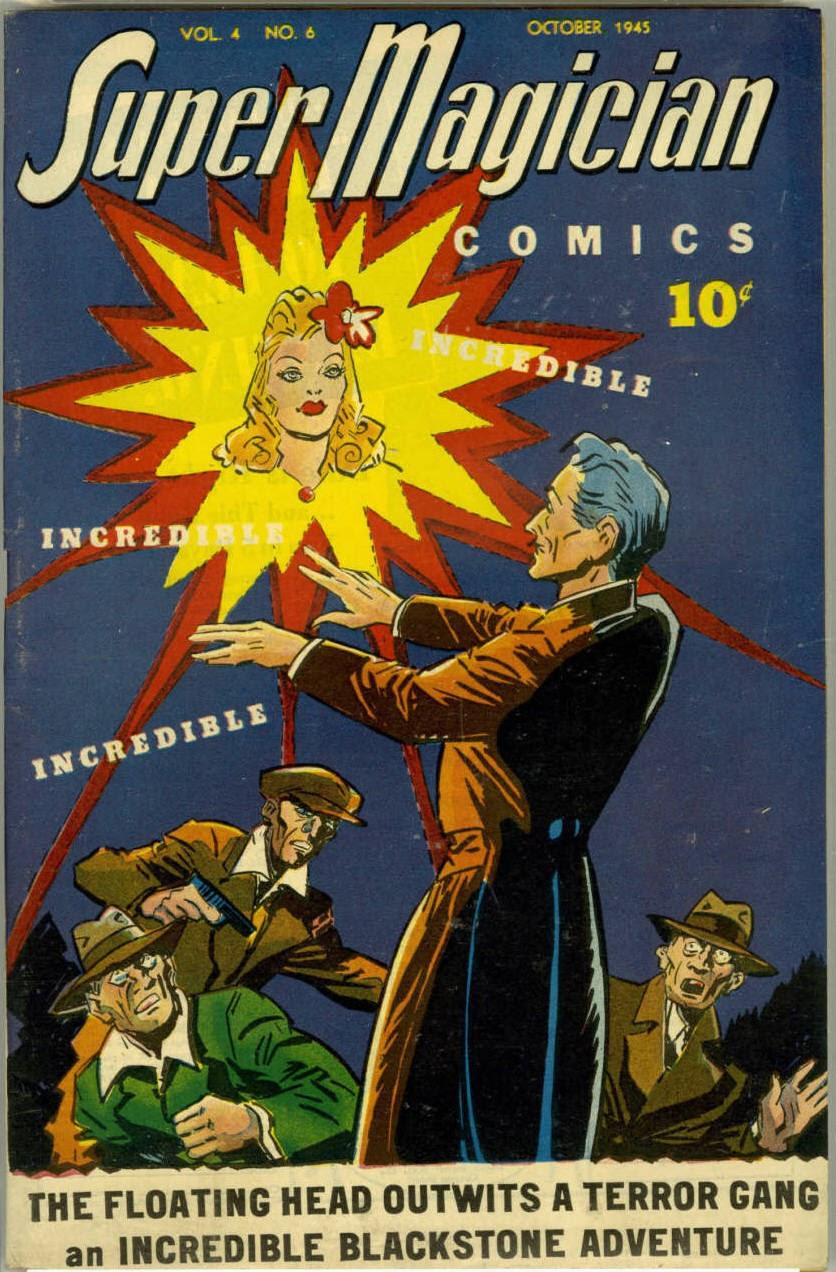 Read online Super-Magician Comics comic -  Issue #42 - 1