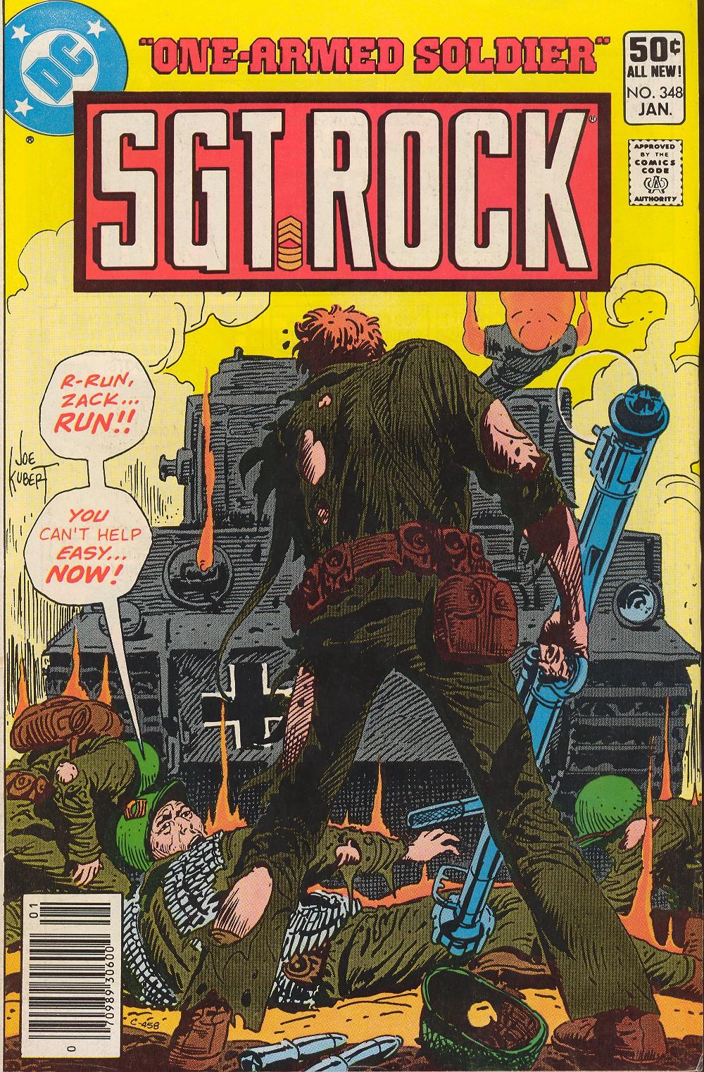 Read online Sgt. Rock comic -  Issue #348 - 1