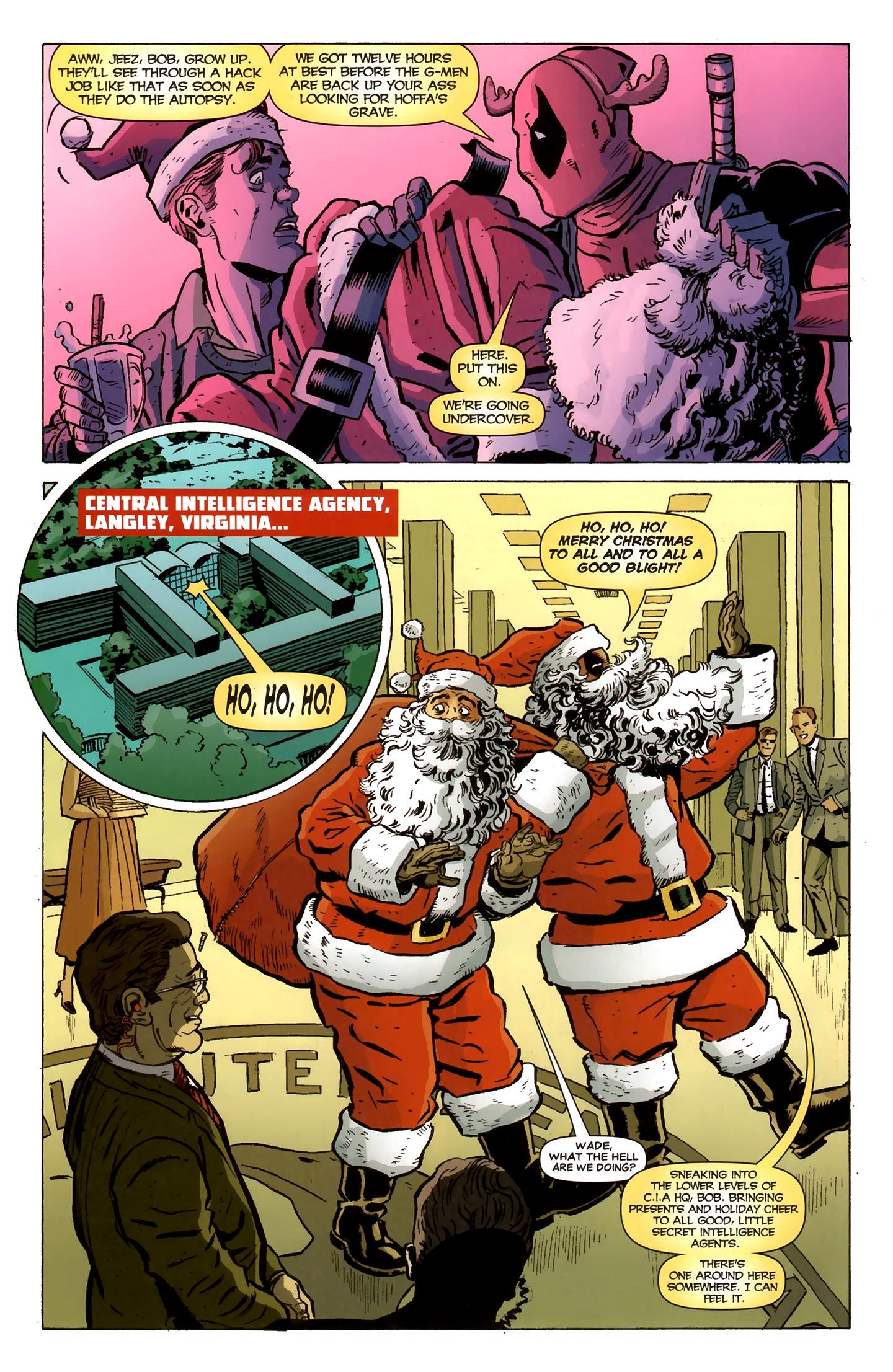 Read online Deadpool MAX X-Mas Special comic -  Issue # Full - 5