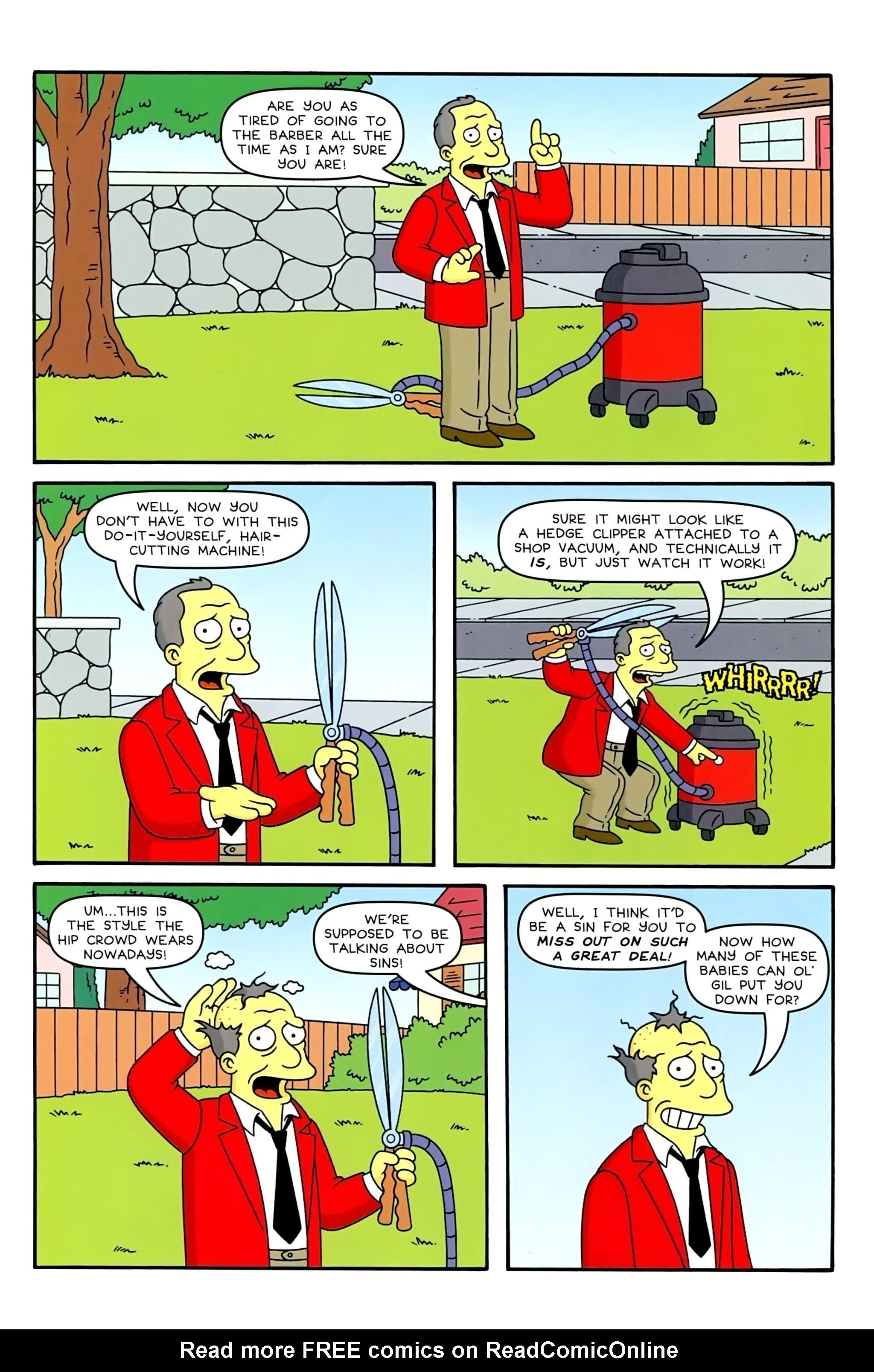Read online Simpsons Comics comic -  Issue #234 - 23