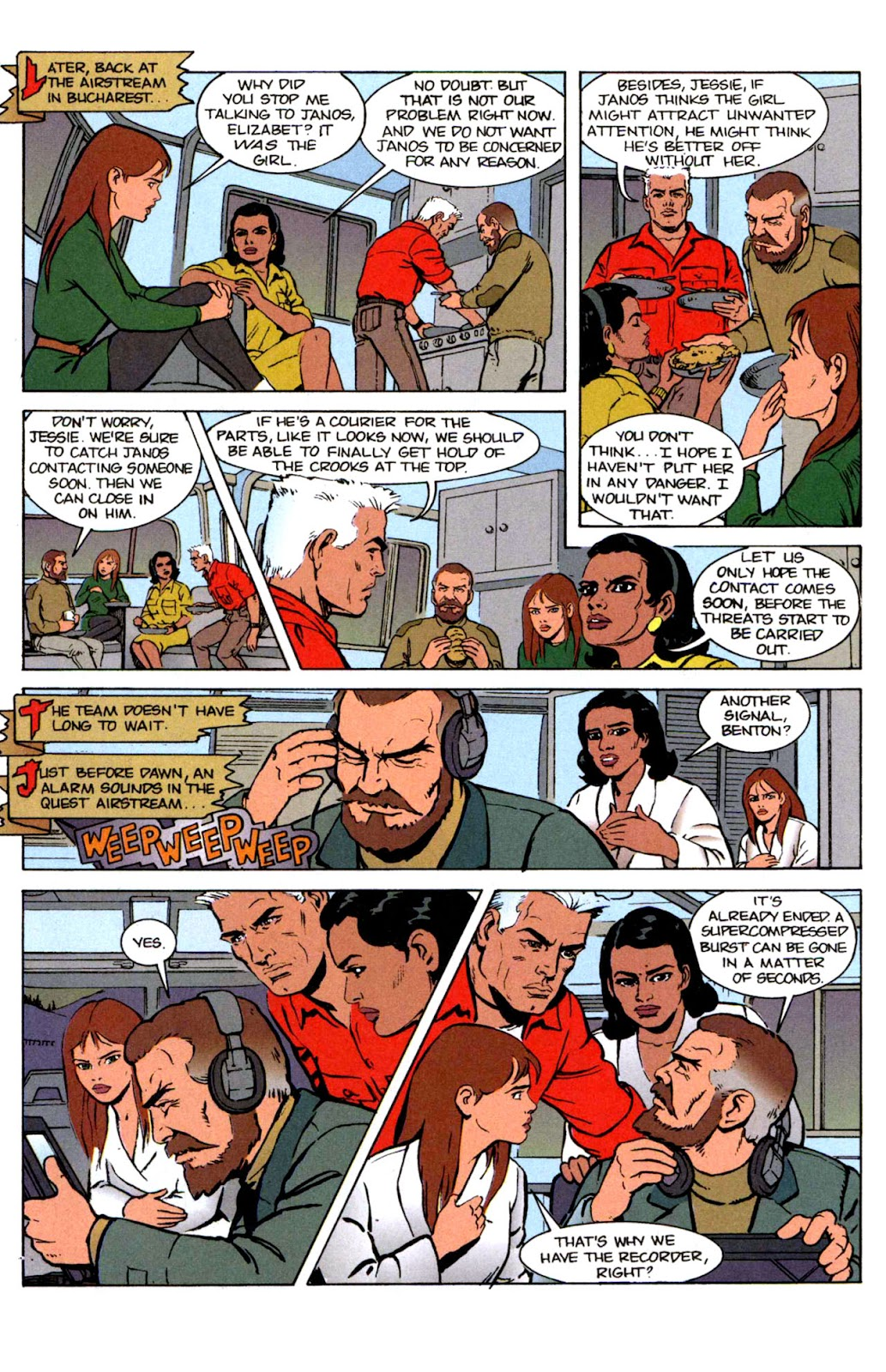 Read online The Real Adventures of Jonny Quest comic -  Issue #2 - 27