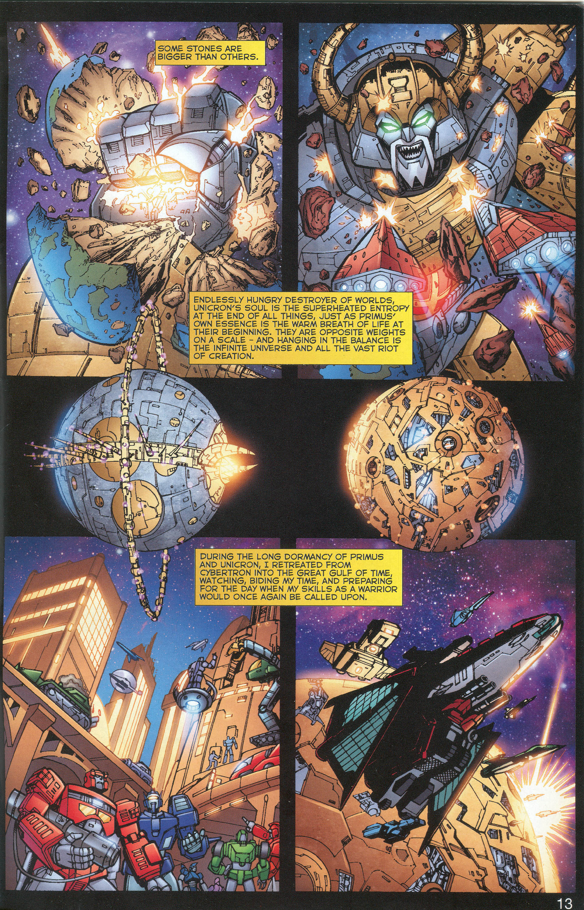 Read online Transformers: Collectors' Club comic -  Issue #1 - 13