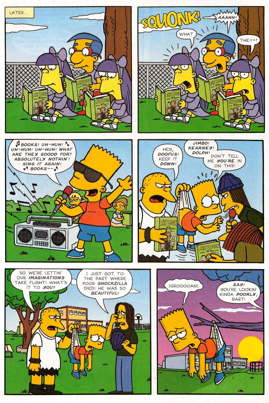 Read online Simpsons Comics Presents Bart Simpson comic -  Issue #30 - 8
