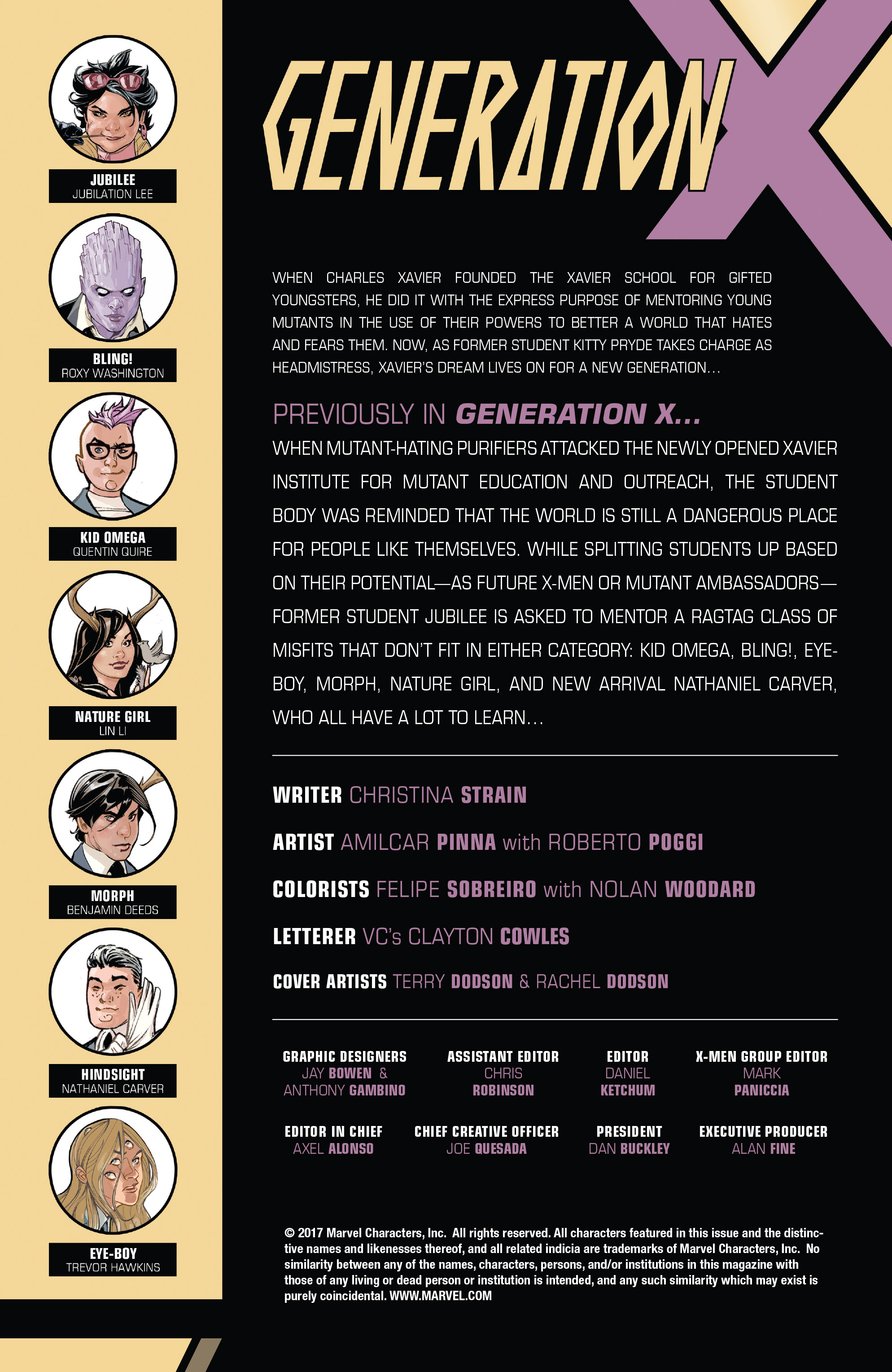 Read online Generation X (2017) comic -  Issue #3 - 2