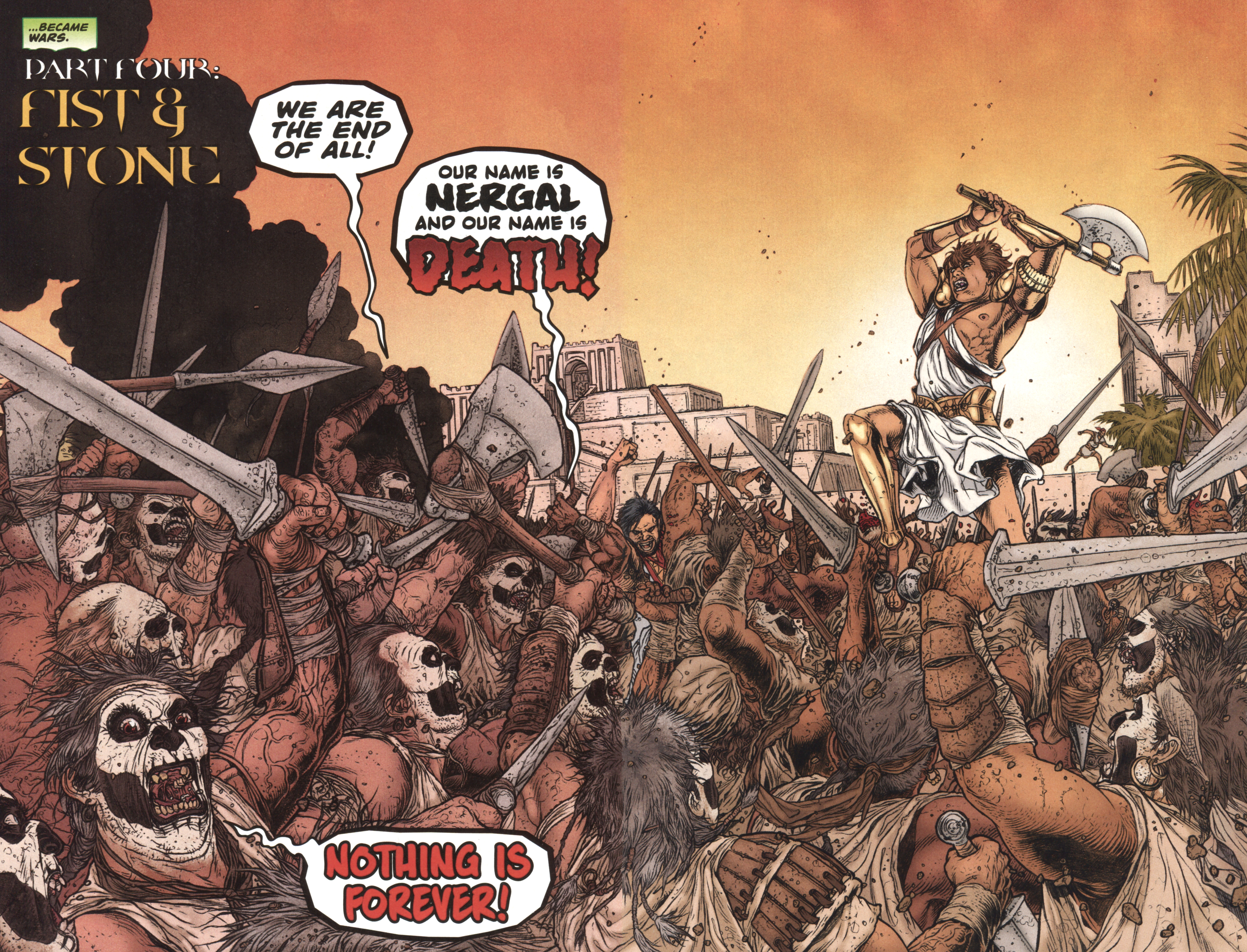 Read online Book of Death: Legends of the Geomancer comic -  Issue #4 - 6