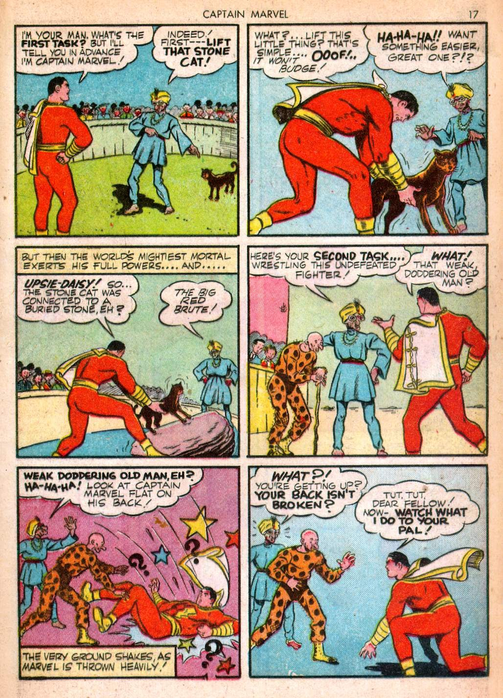 Captain Marvel Adventures issue 10 - Page 17