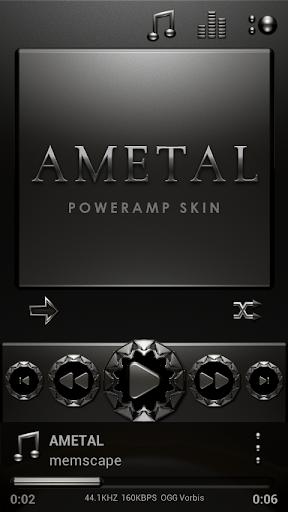 AMETAL Poweramp skin