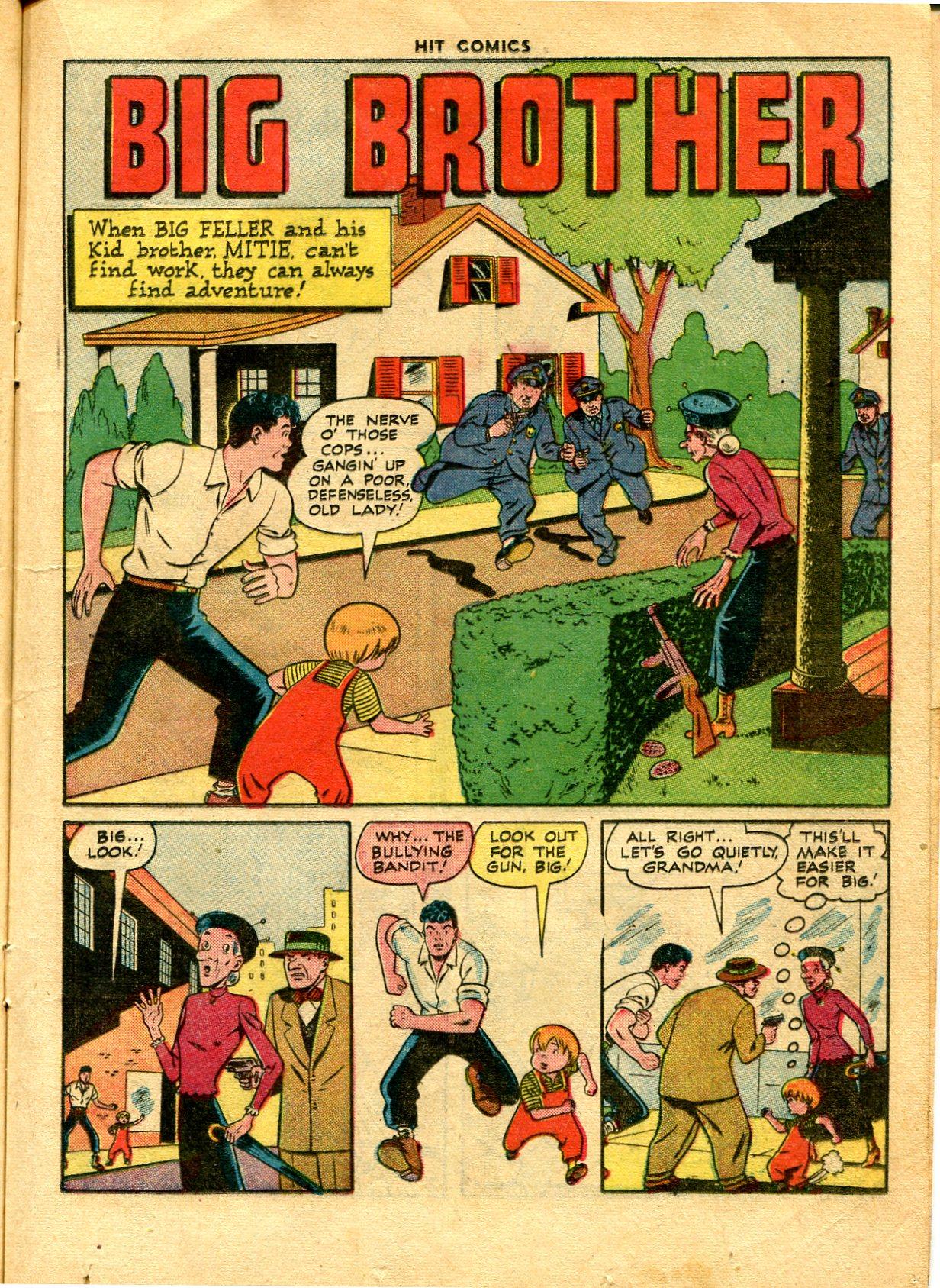 Read online Hit Comics comic -  Issue #48 - 21