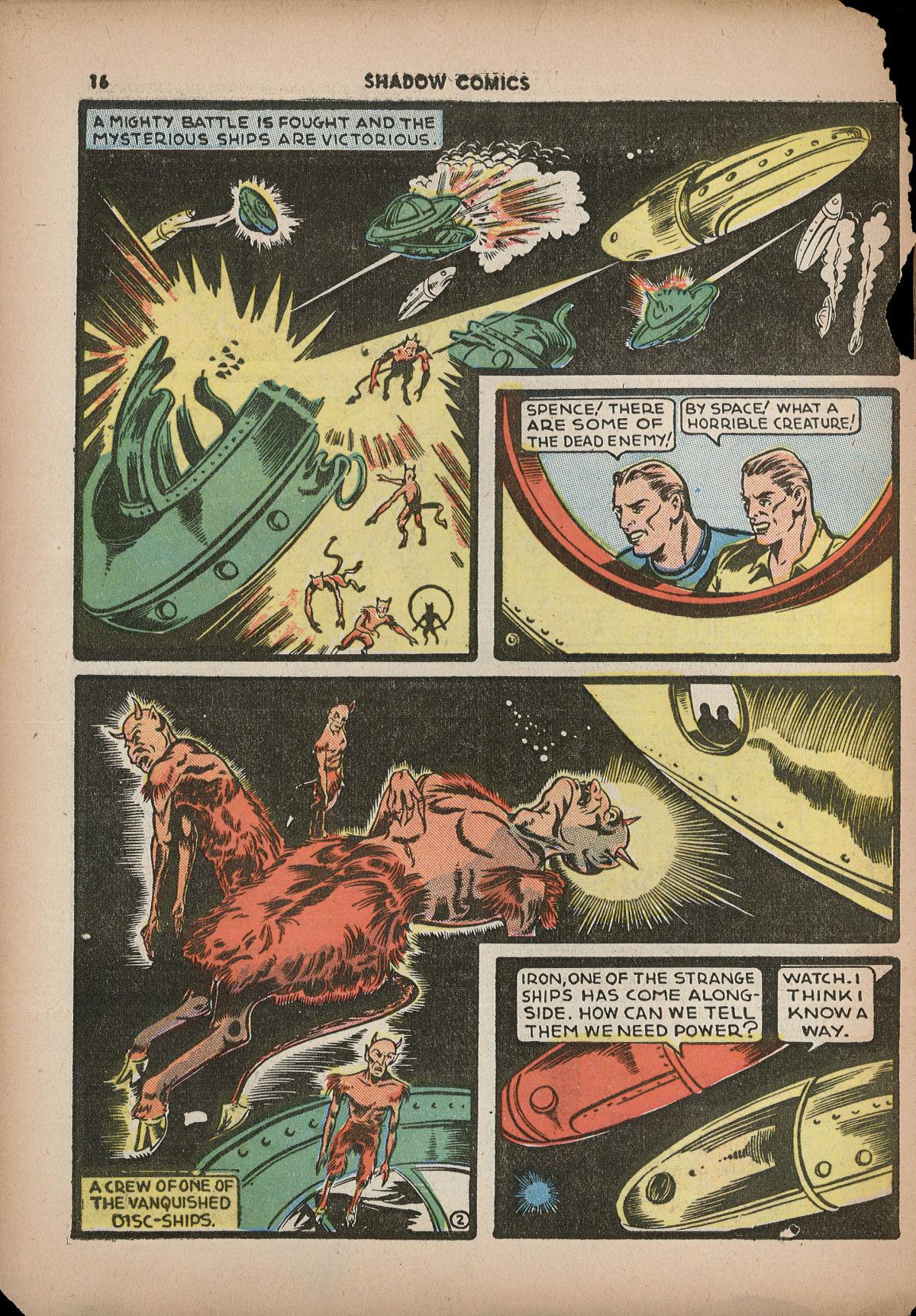 Read online Shadow Comics comic -  Issue #2 - 19