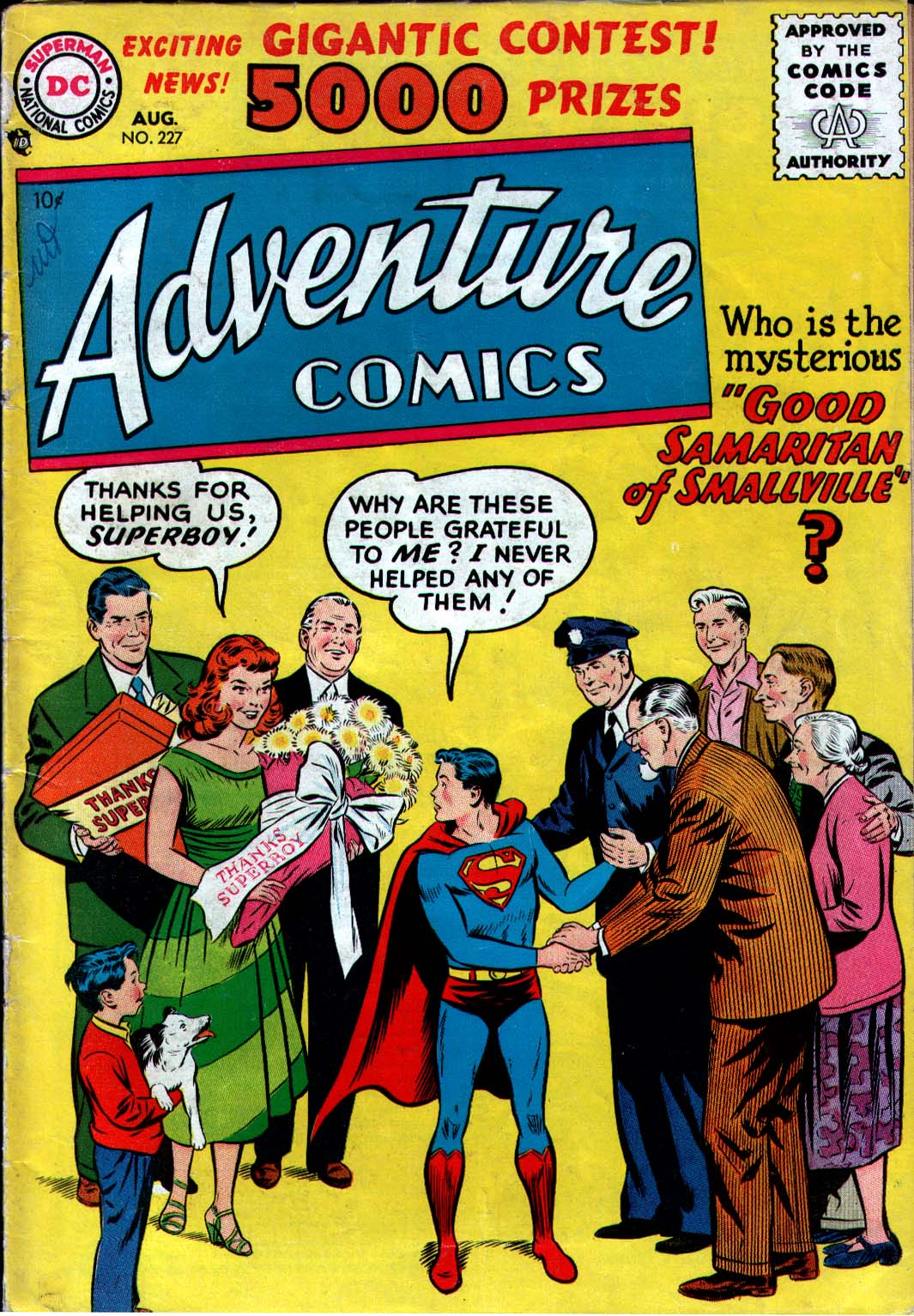 Read online Adventure Comics (1938) comic -  Issue #227 - 1