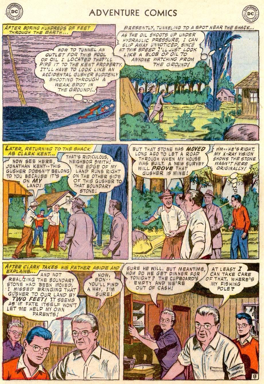 Read online Adventure Comics (1938) comic -  Issue #244 - 10