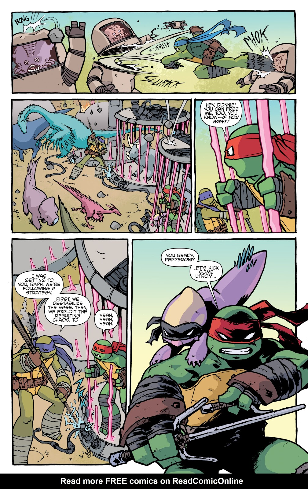 Read online Teenage Mutant Ninja Turtles: The IDW Collection comic -  Issue # TPB 5 (Part 1) - 22