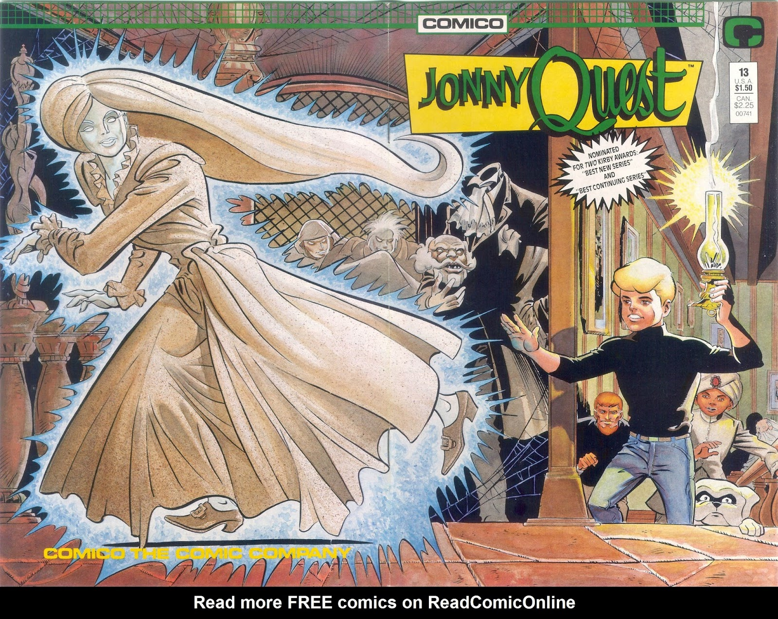 Jonny Quest (1986) issue 13 - Page 1