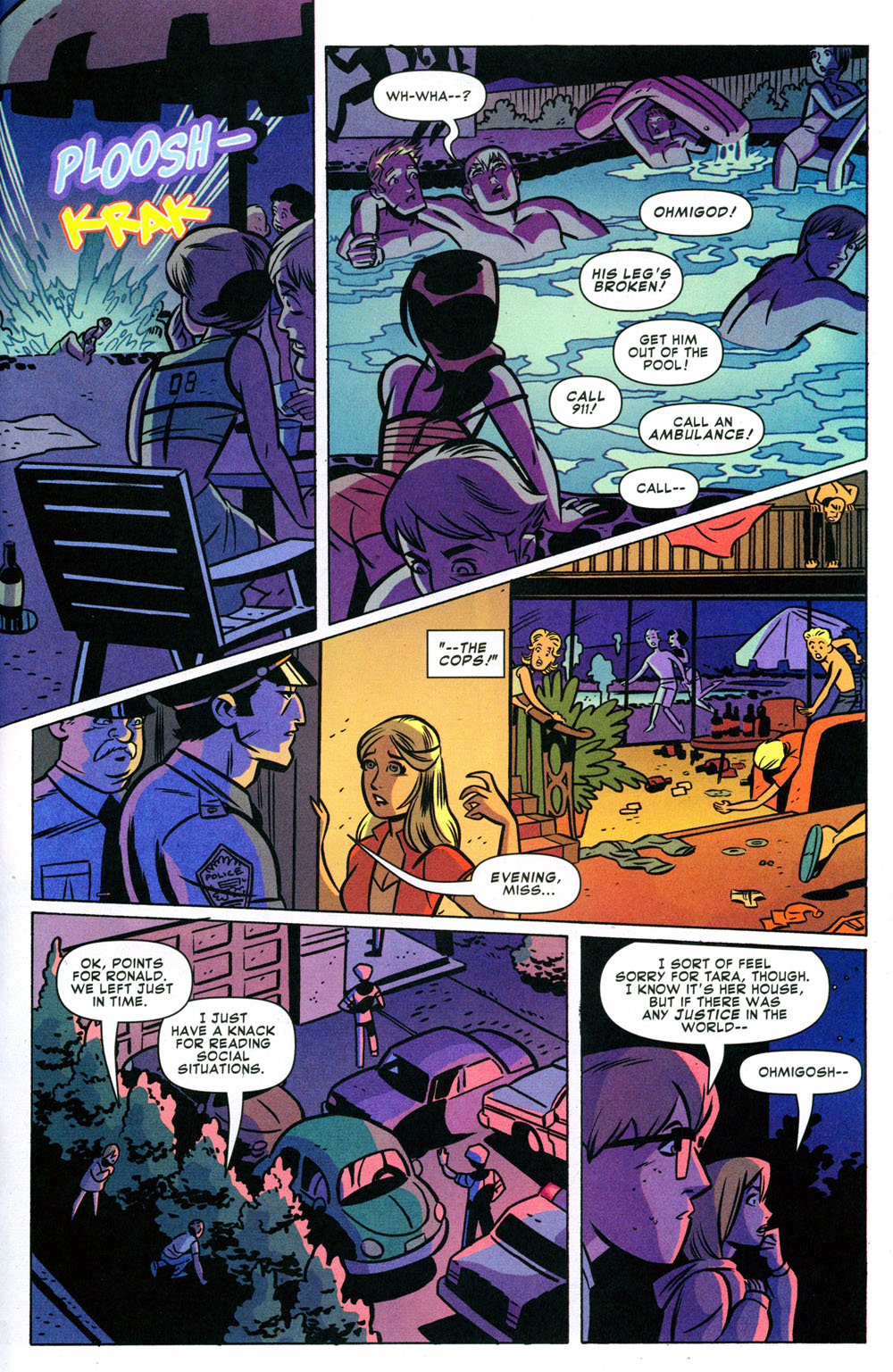 Read online Bad Girls comic -  Issue #2 - 21