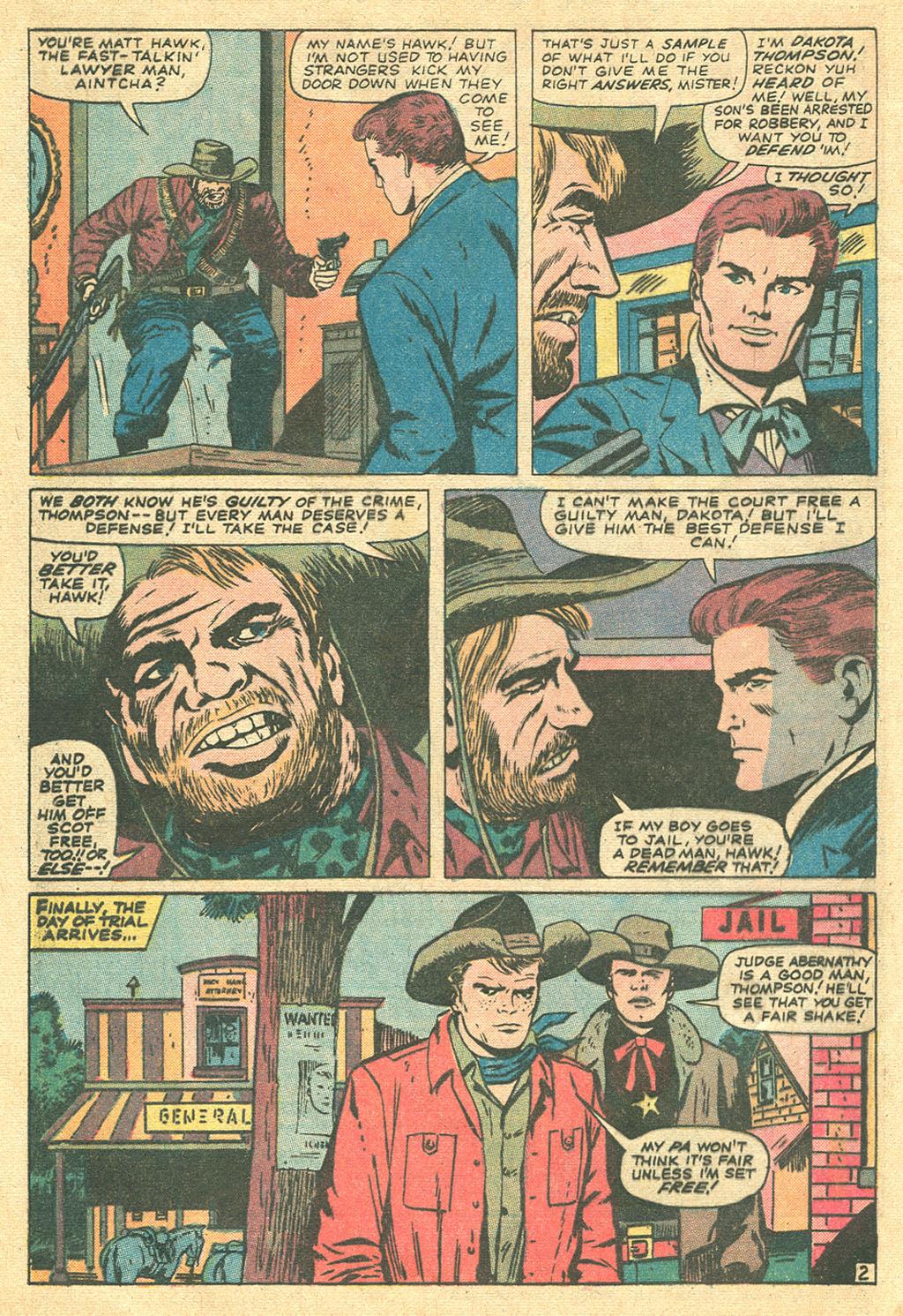 Read online Two-Gun Kid comic -  Issue #107 - 4