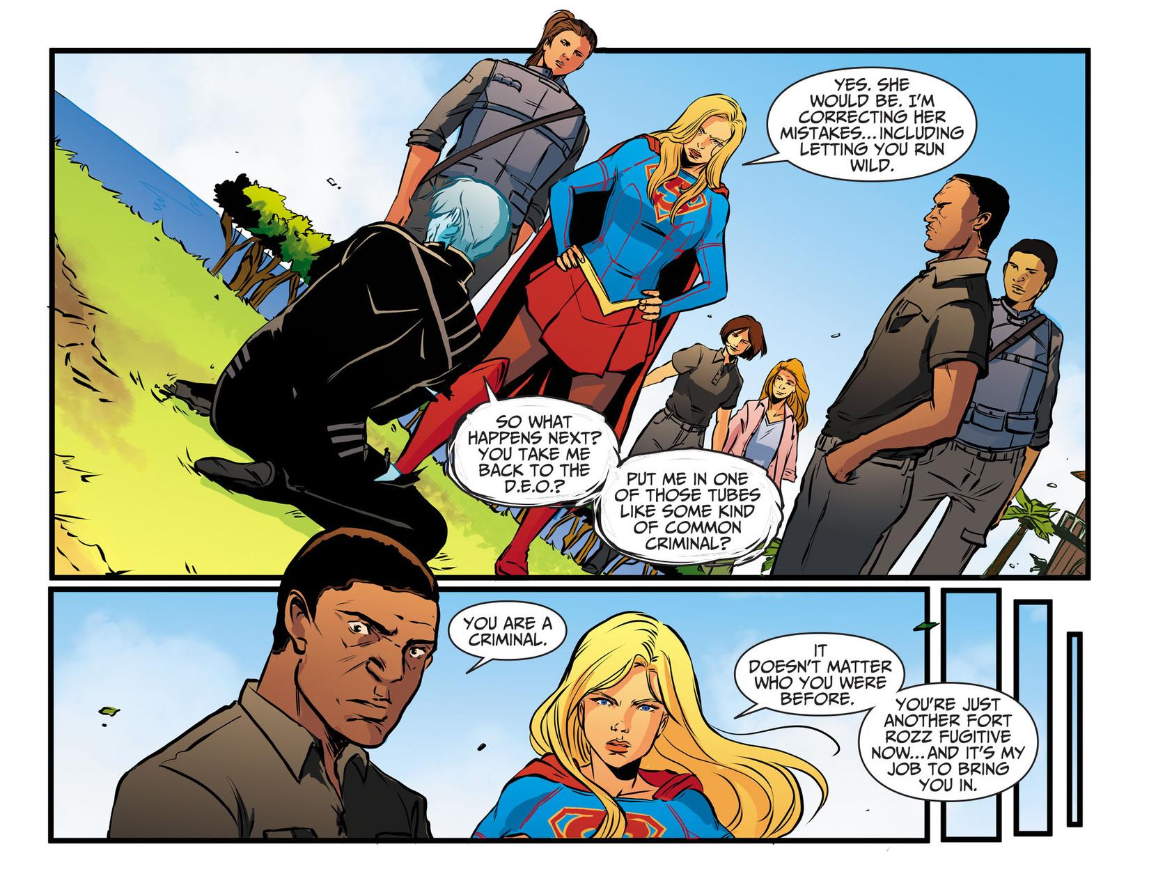 Read online Adventures of Supergirl comic -  Issue #13 - 17