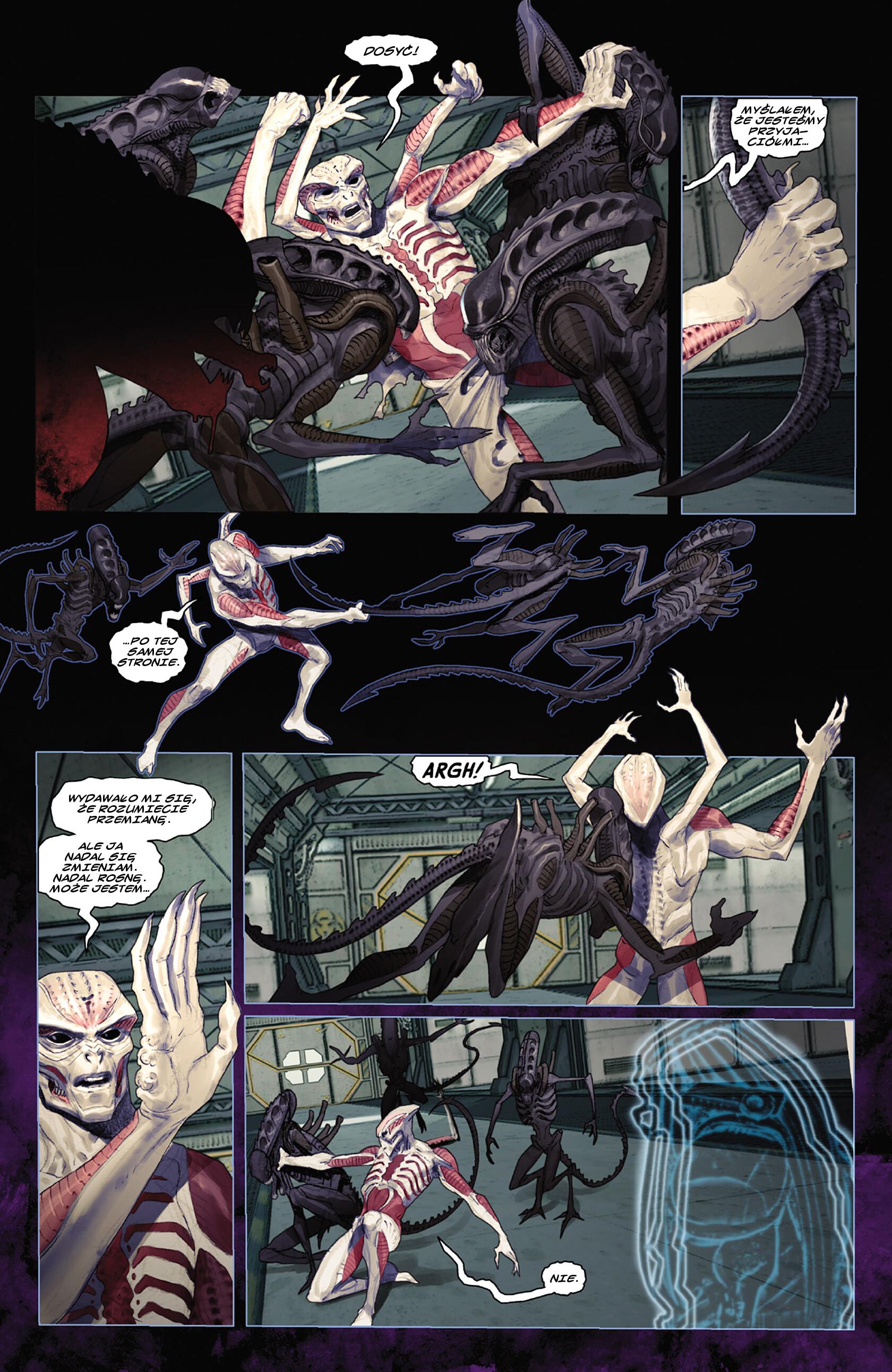 Read online Alien vs. Predator: Fire and Stone comic -  Issue #3 - 6