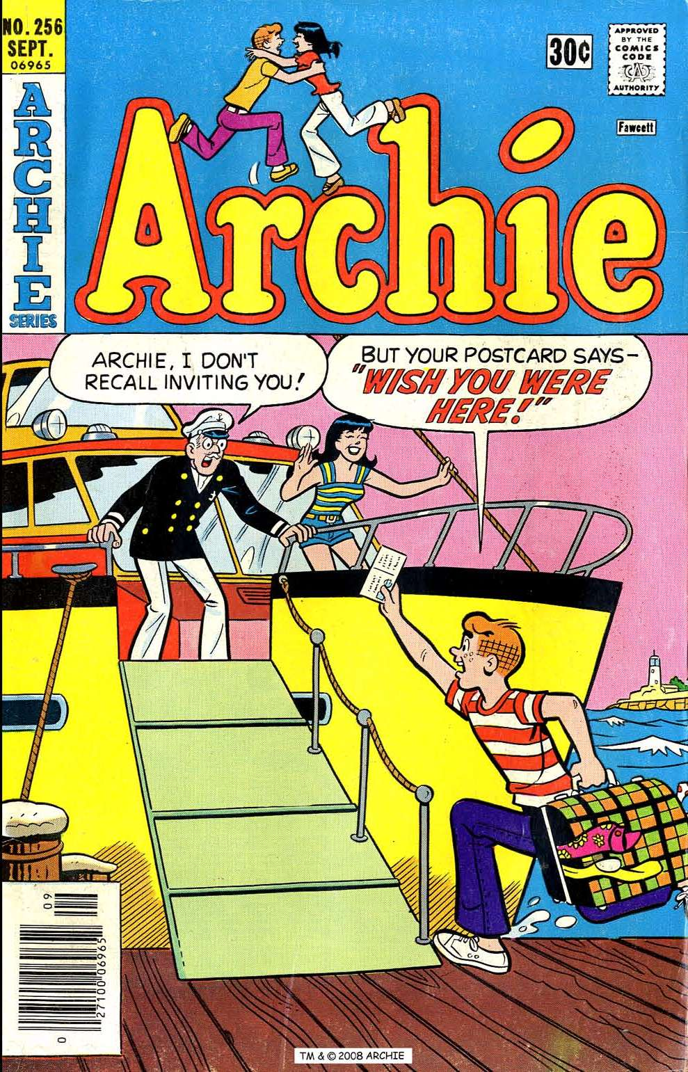Read online Archie (1960) comic -  Issue #256 - 1