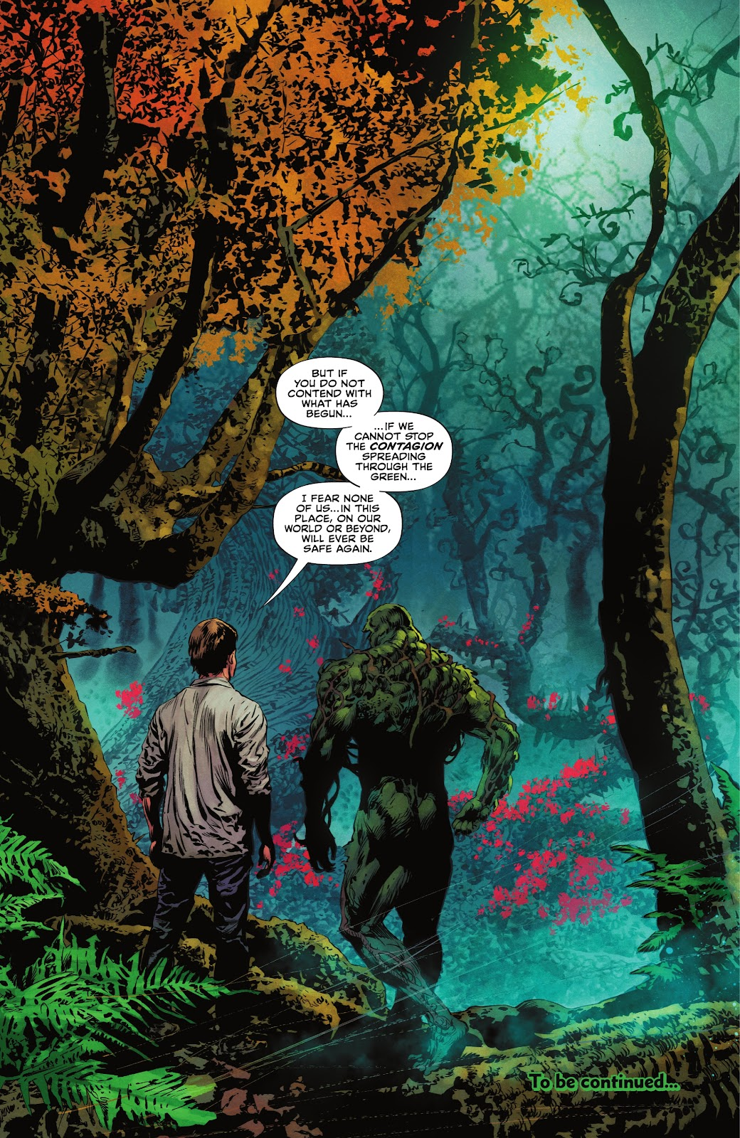 The Swamp Thing issue 3 - Page 22