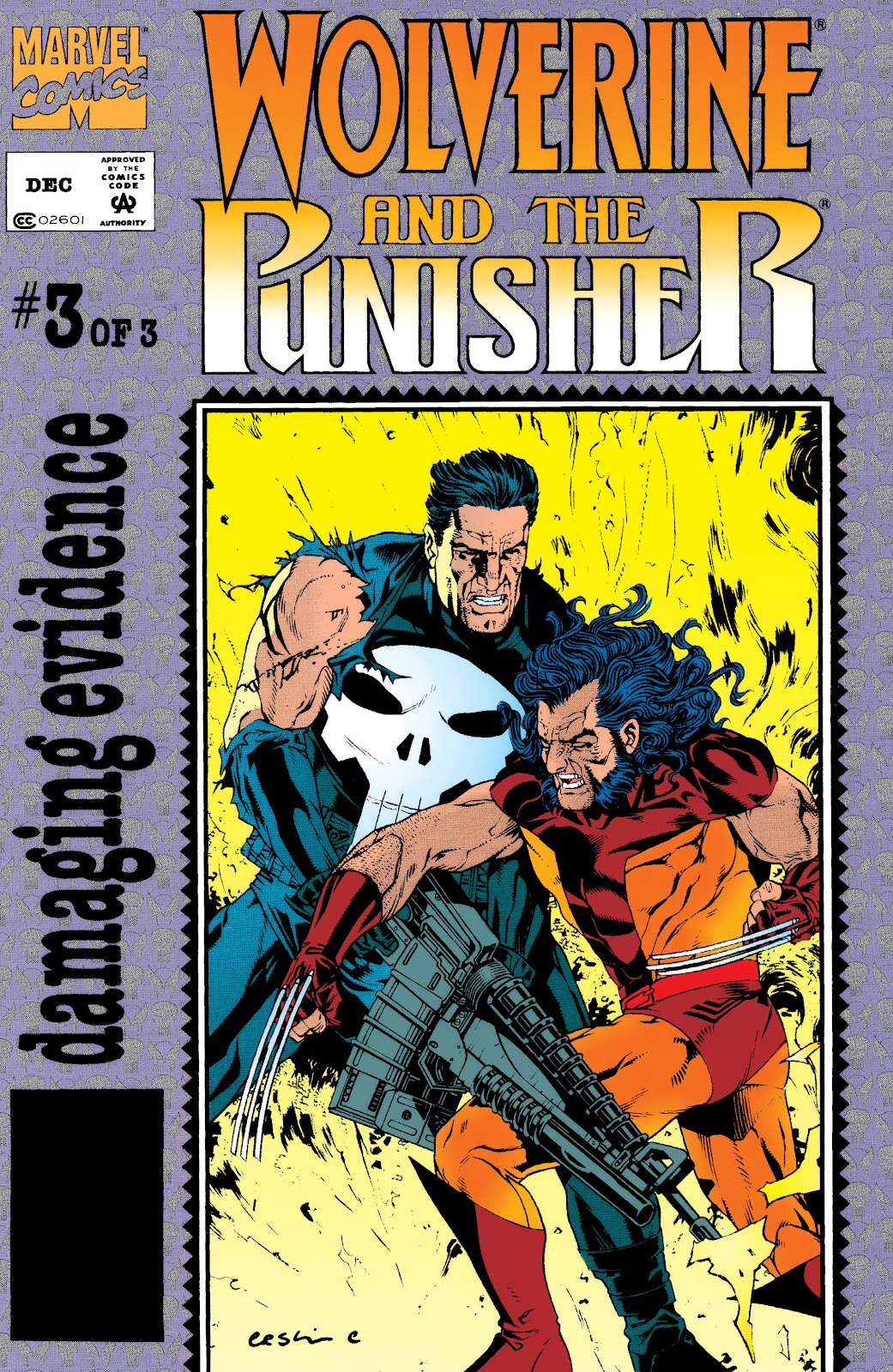 Wolverine and the Punisher: Damaging Evidence 3 Page 1