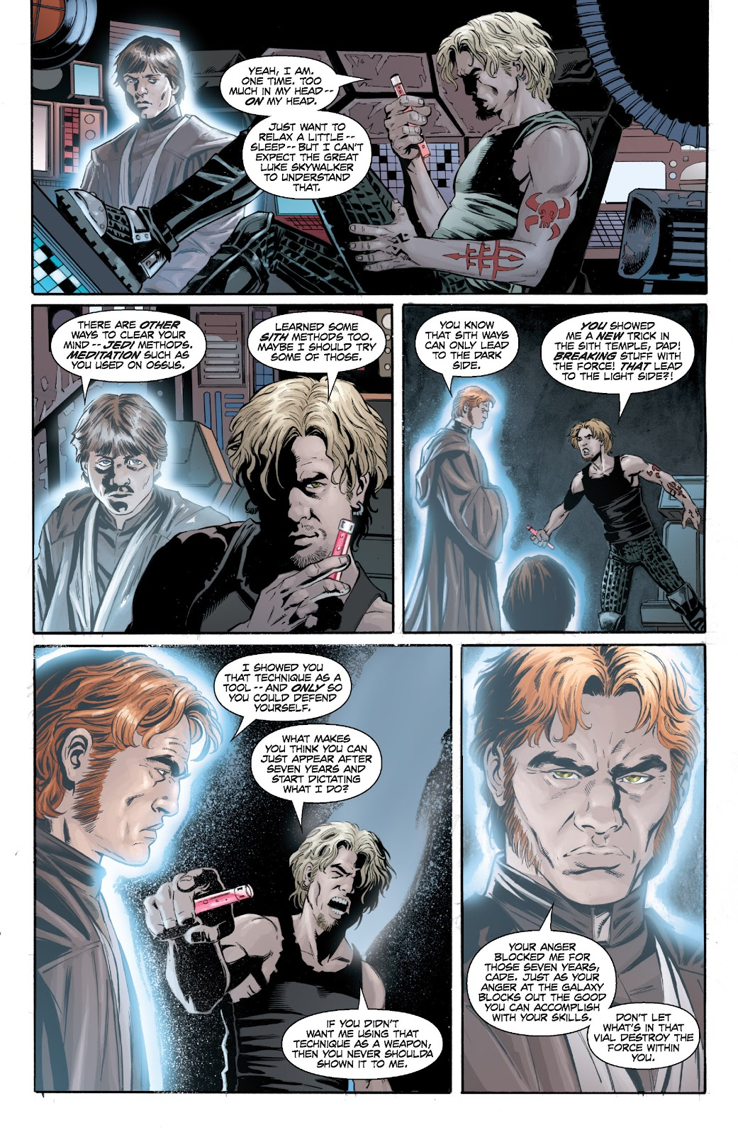 Read online Star Wars Legends: Legacy - Epic Collection comic -  Issue # TPB 2 (Part 2) - 36