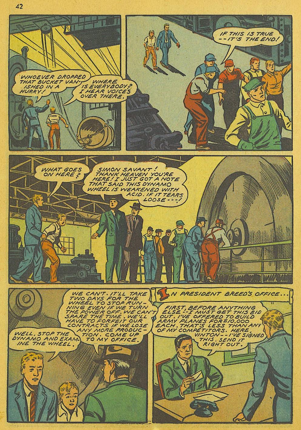 Read online Super-Magician Comics comic -  Issue #10 - 42